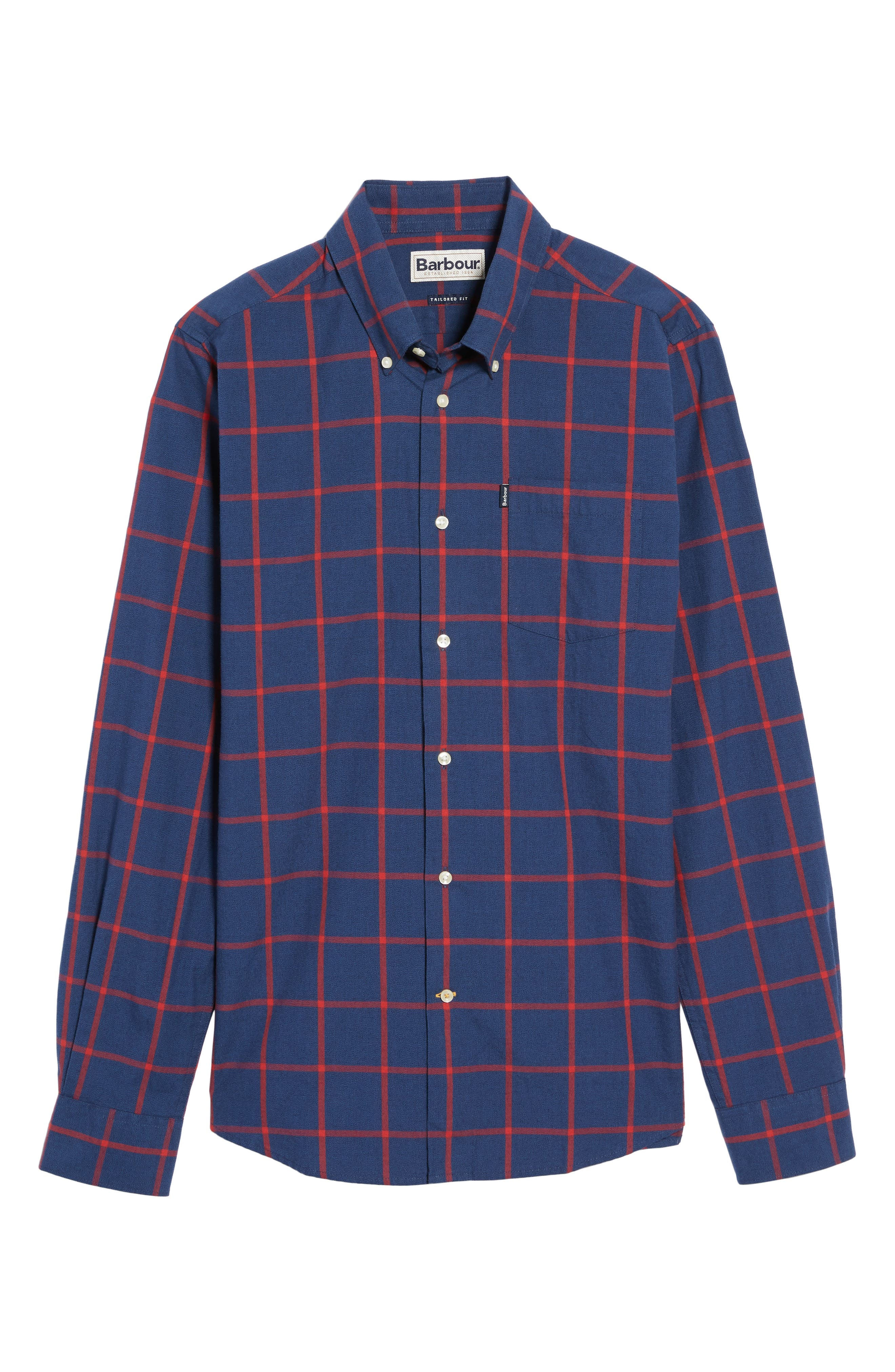 Alternate Image 6  - Barbour Baxter Tattersall Sport Shirt