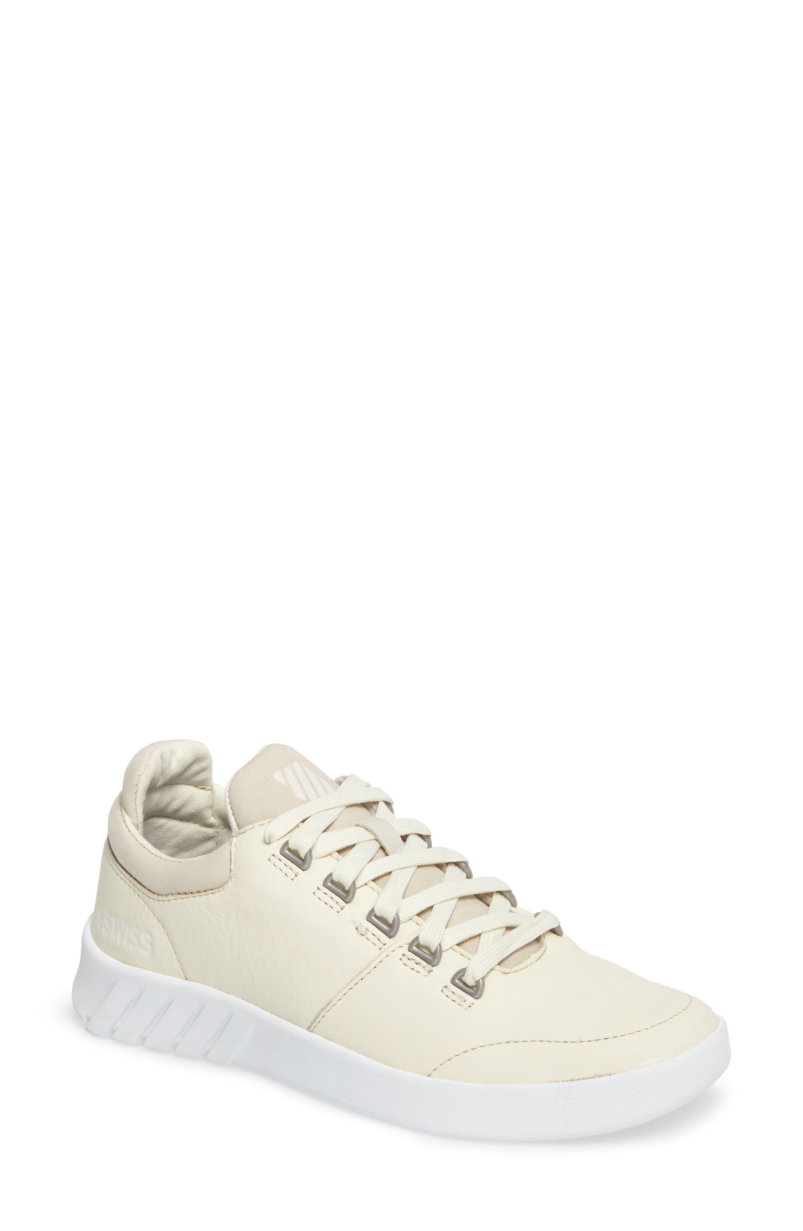 Aero Trainer Sneaker,                         Main,                         color, Vanilla Ice/ White
