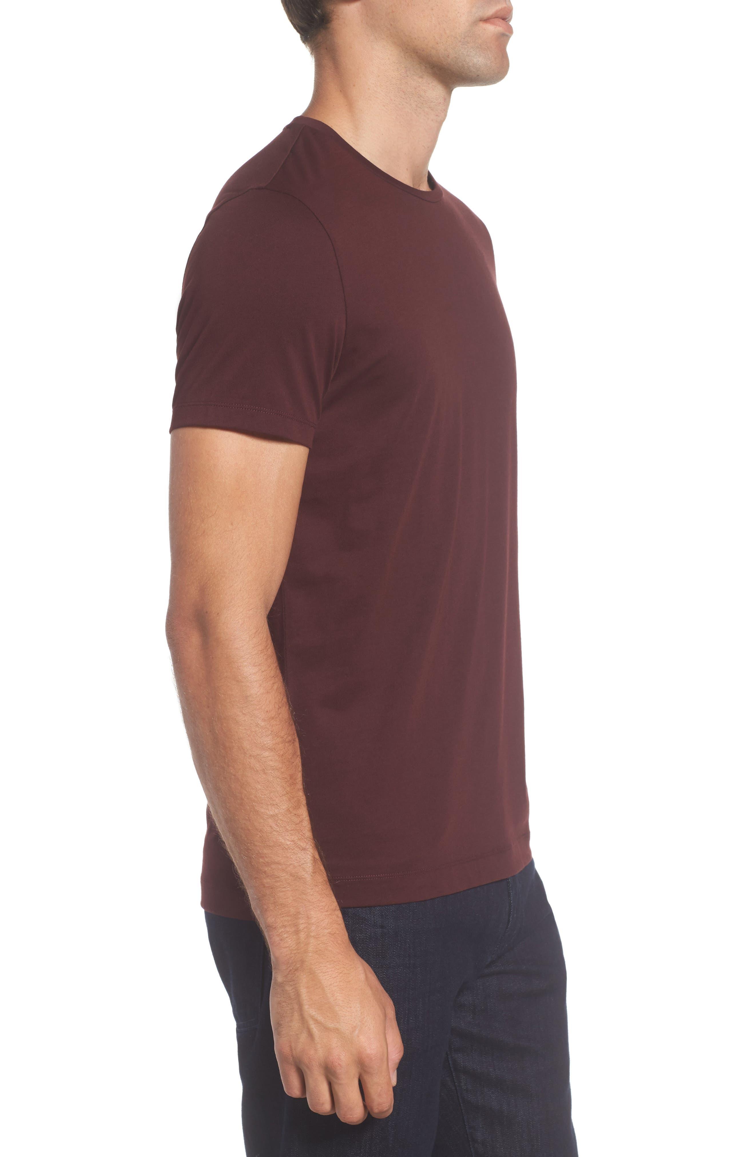 Tessler Crewneck T-Shirt,                             Alternate thumbnail 8, color,                             Black
