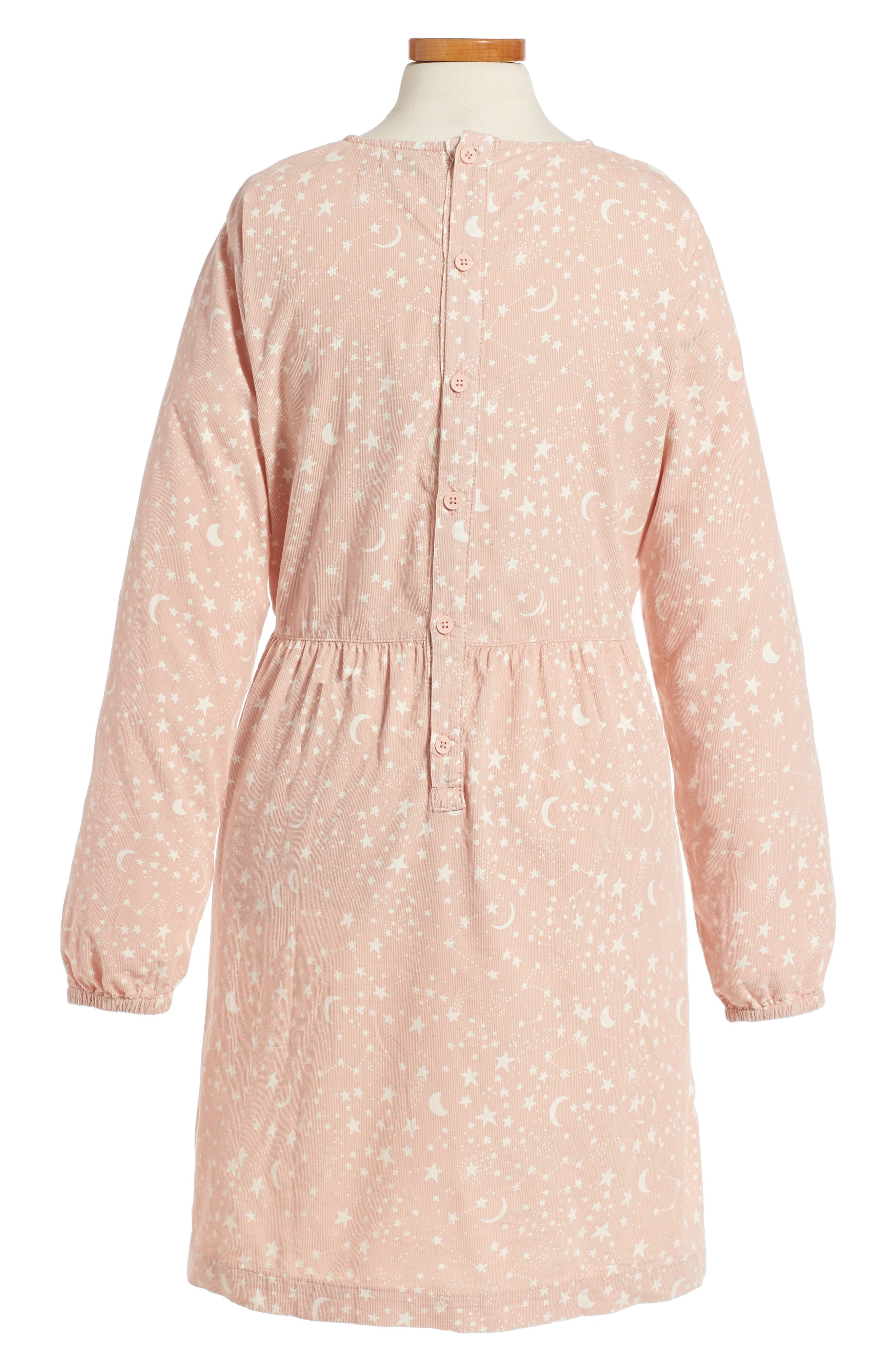 Alternate Image 2  - Stella McCartney Kids Skippy Star Print Dress (Big Girls)