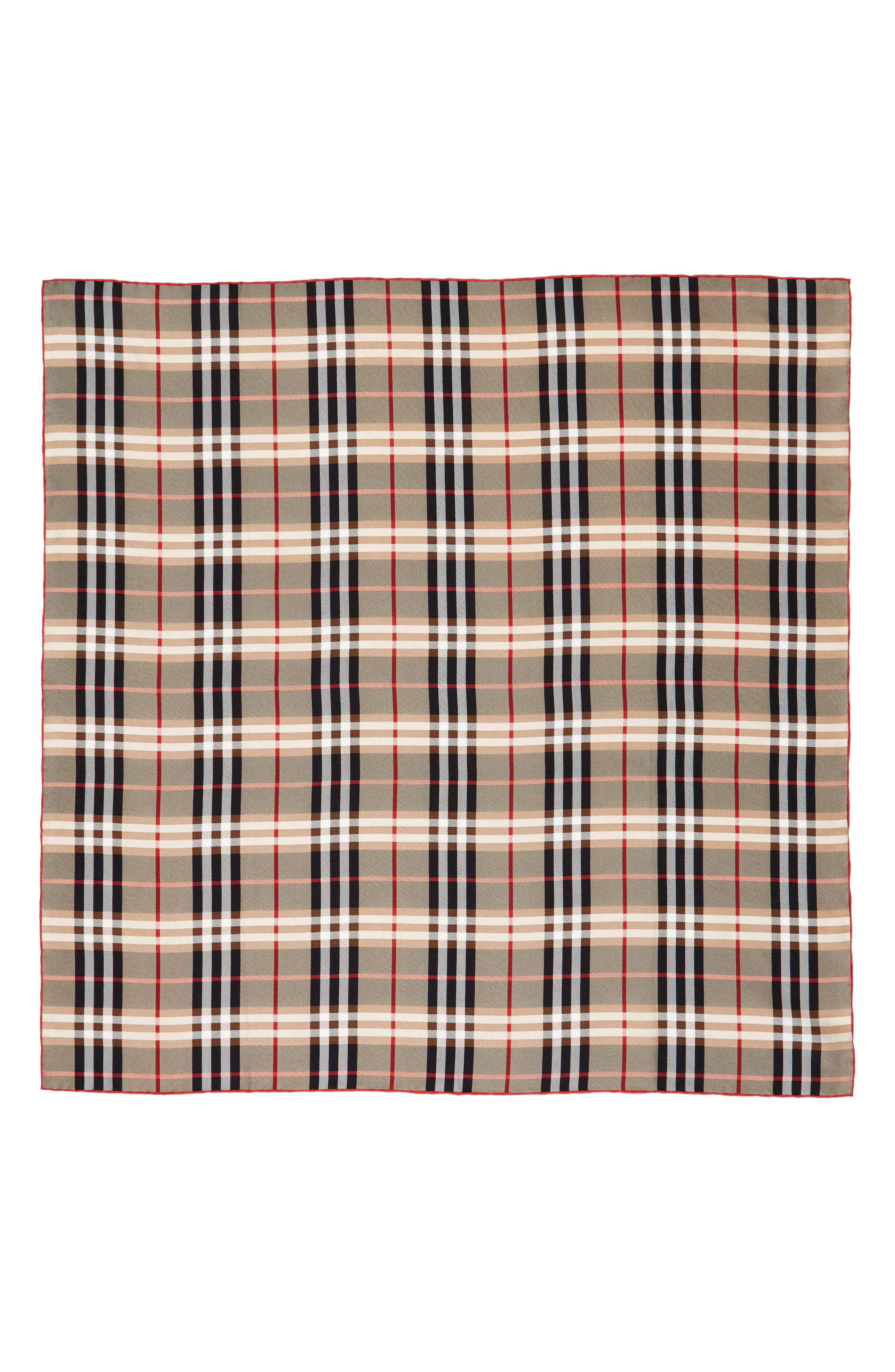 Alternate Image 1 Selected - Burberry Castleford Check Silk Scarf