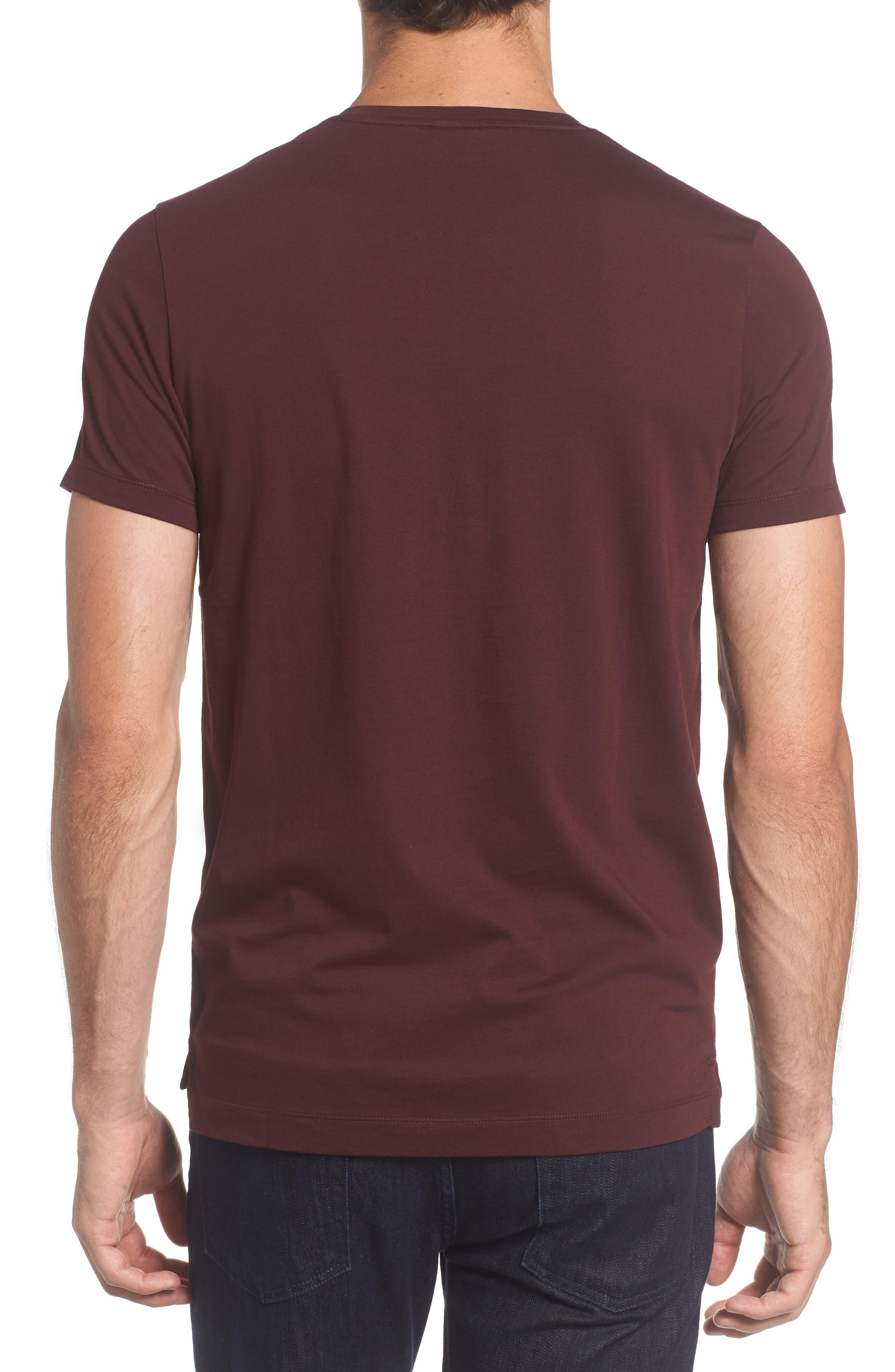 Tessler Crewneck T-Shirt,                             Alternate thumbnail 7, color,                             Black