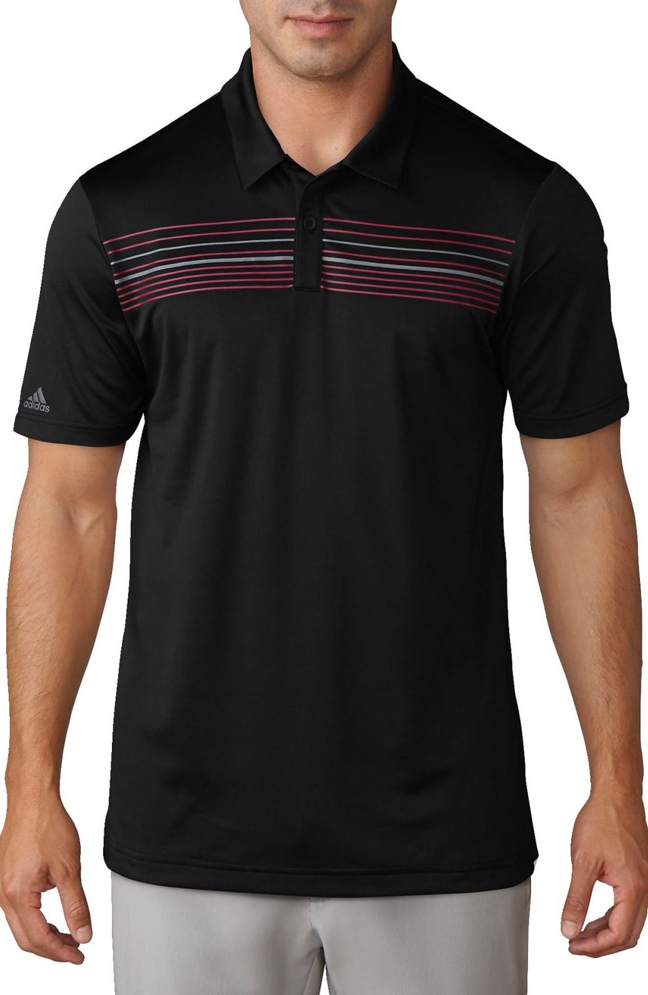 adidas Climacool® Striped Polo