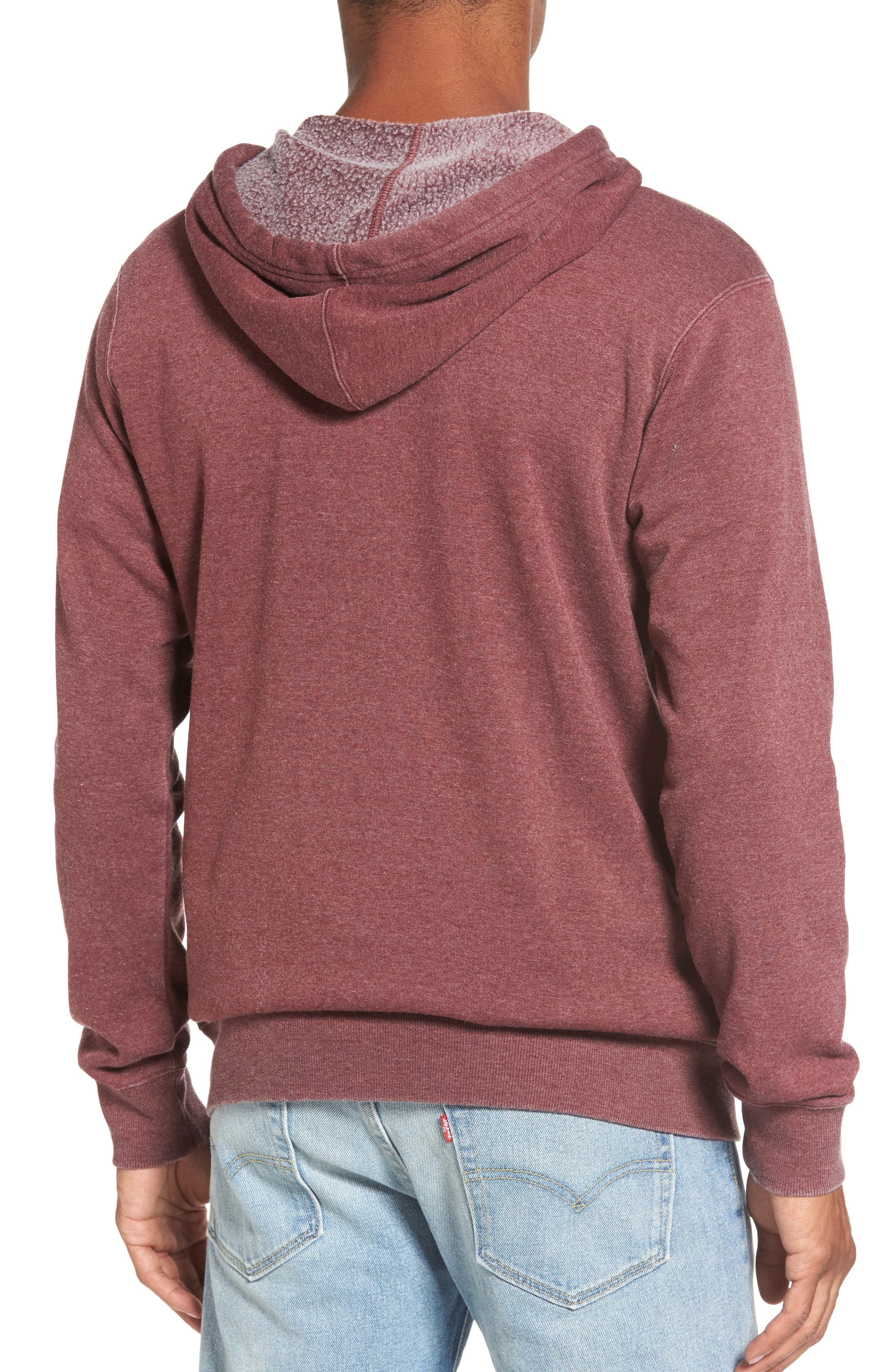 Sunwash Hoodie,                             Alternate thumbnail 2, color,                             Tawny Port