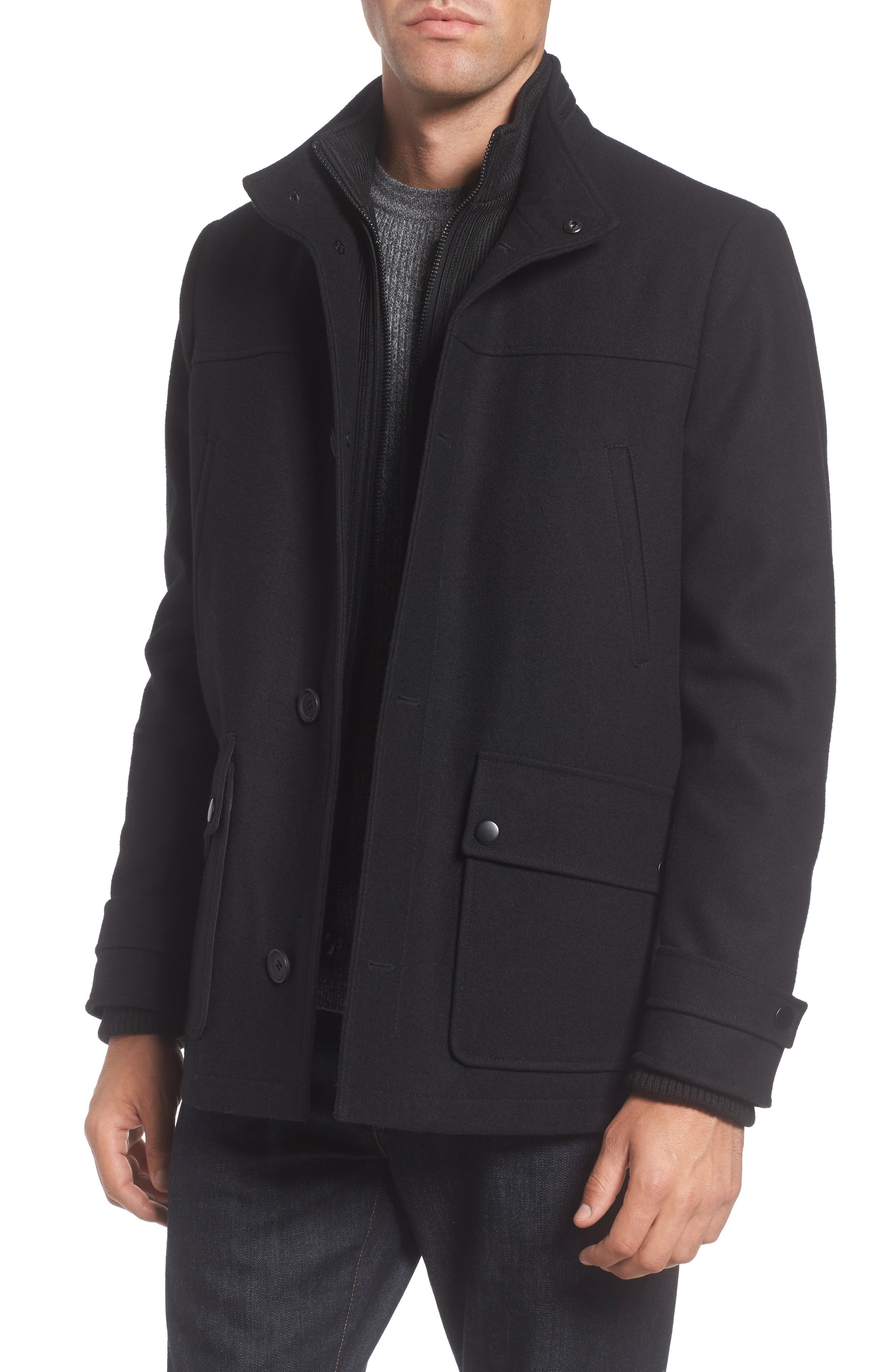 Reaction Kenneth Cole Button Front Coat