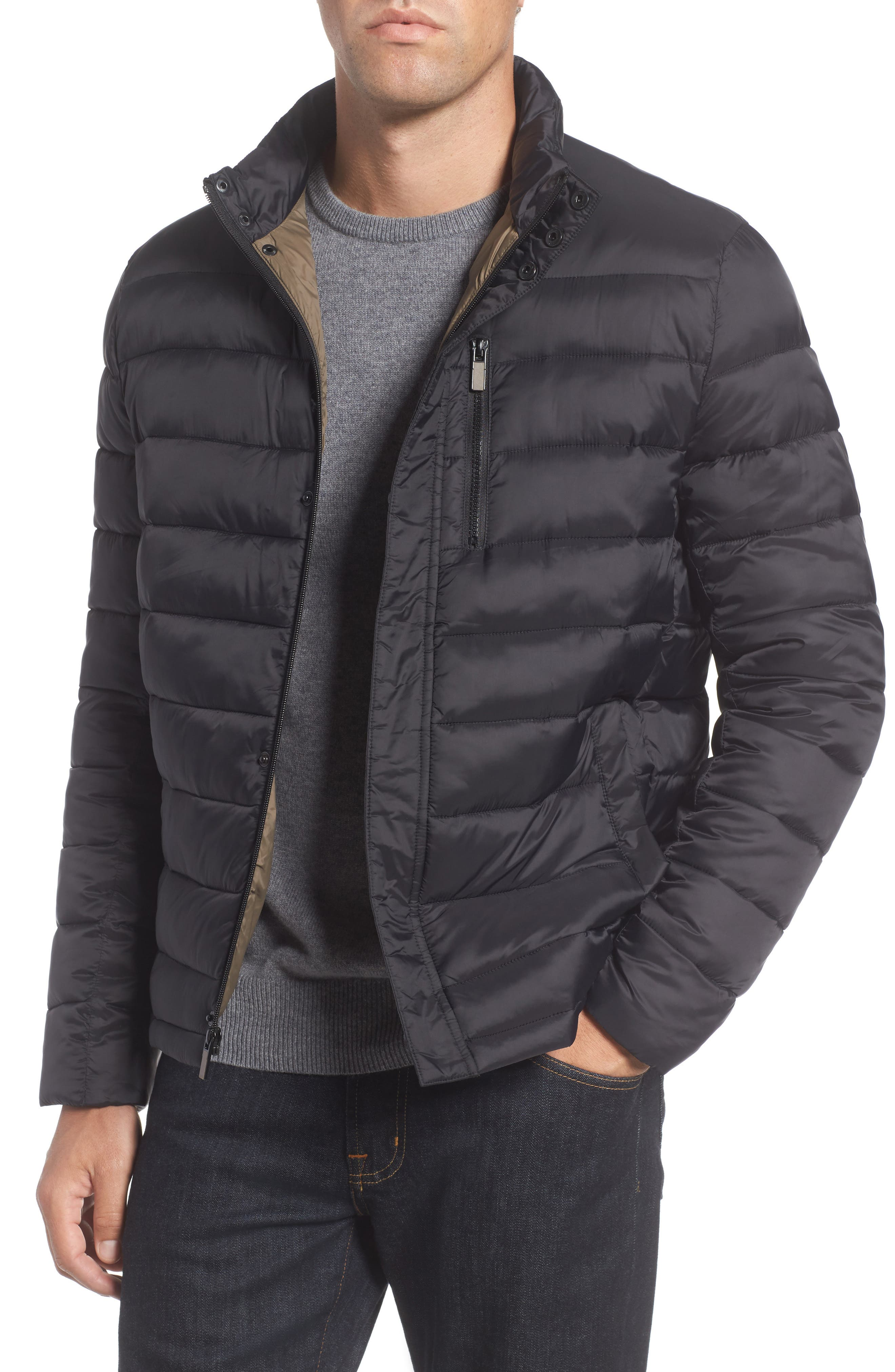 Reaction Kenneth Cole Packable Quilted Puffer Jacket