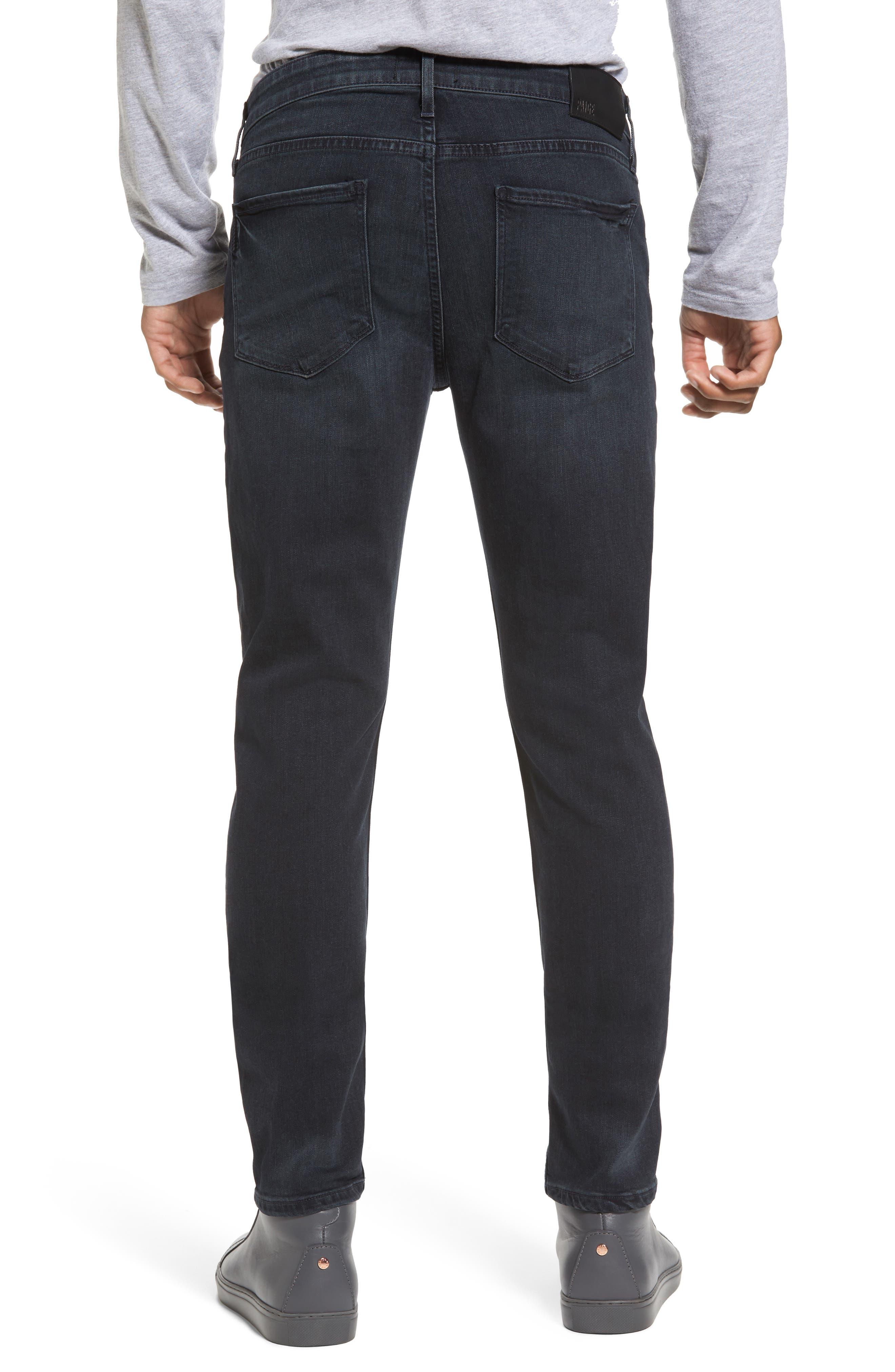 Transcend - Croft Skinny Fit Jeans,                             Alternate thumbnail 2, color,                             Beckett