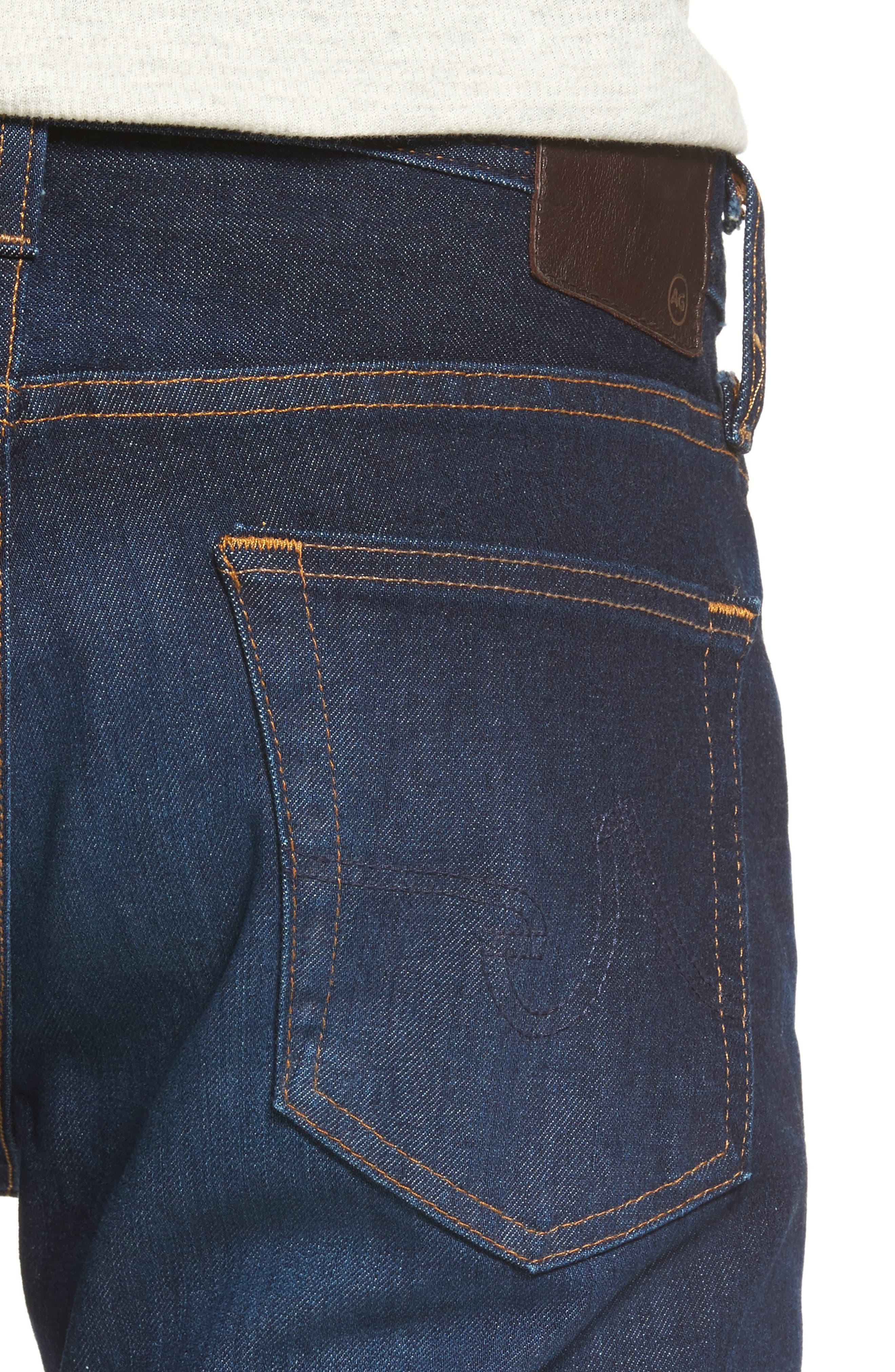 Alternate Image 4  - AG Dylan Skinny Jeans (5 Years Porter)