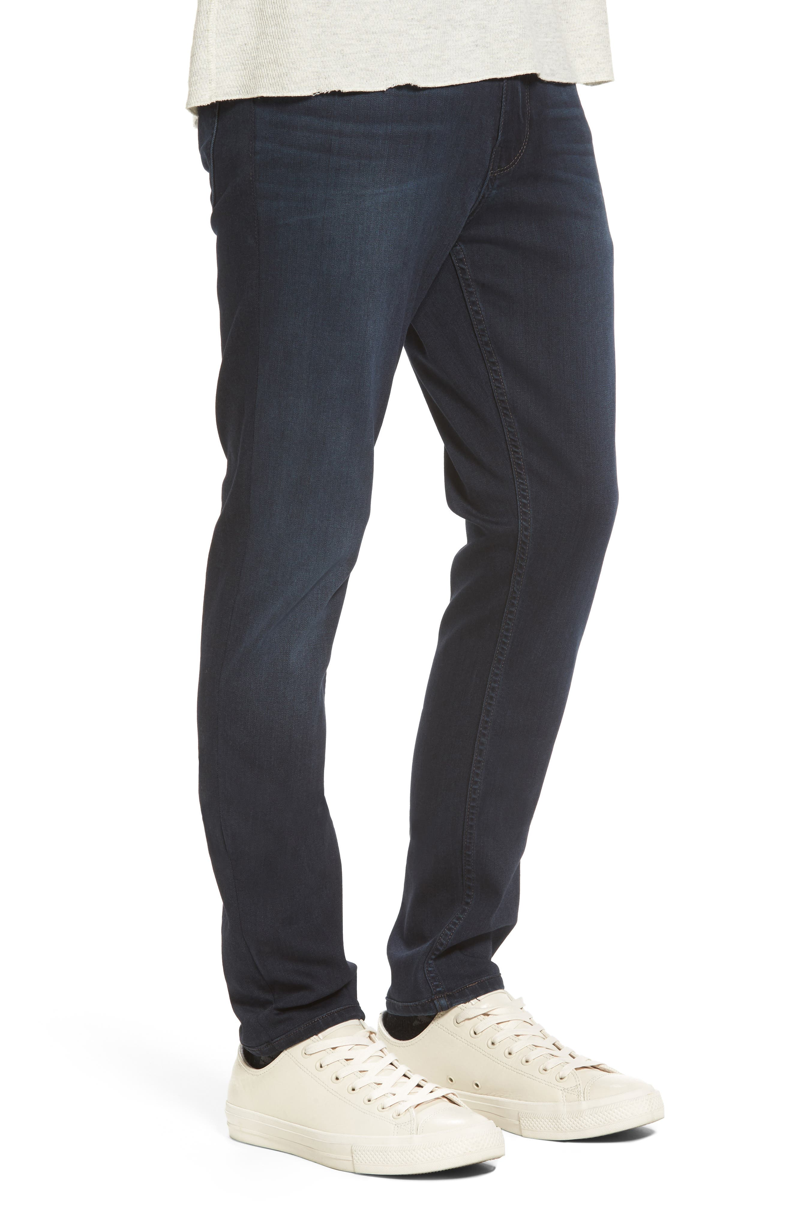 Croft Skinny Fit Jeans,                             Alternate thumbnail 3, color,                             Cecil