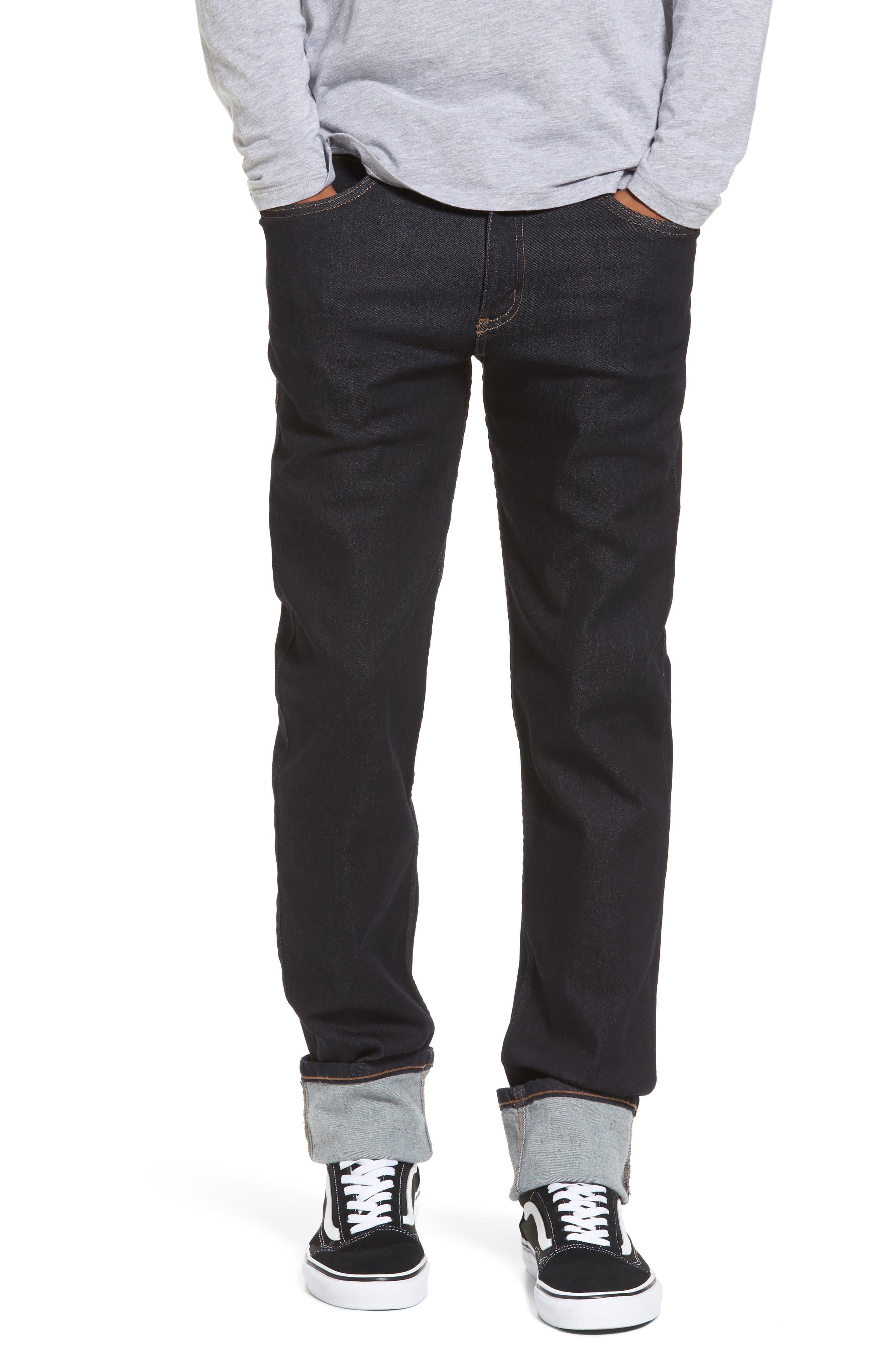 Weird Guy Slim Fit Jeans,                             Main thumbnail 1, color,                             Indigo