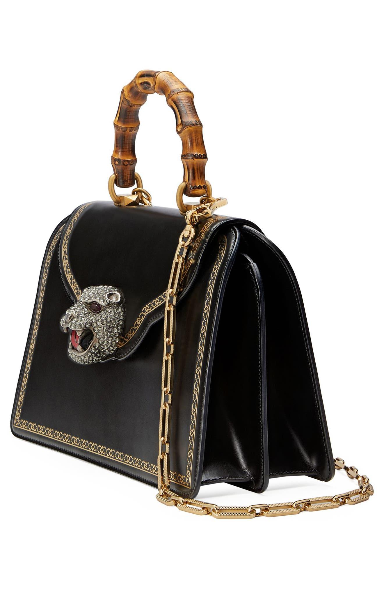 Alternate Image 4  - Gucci Gatto Medium Top Handle Bag