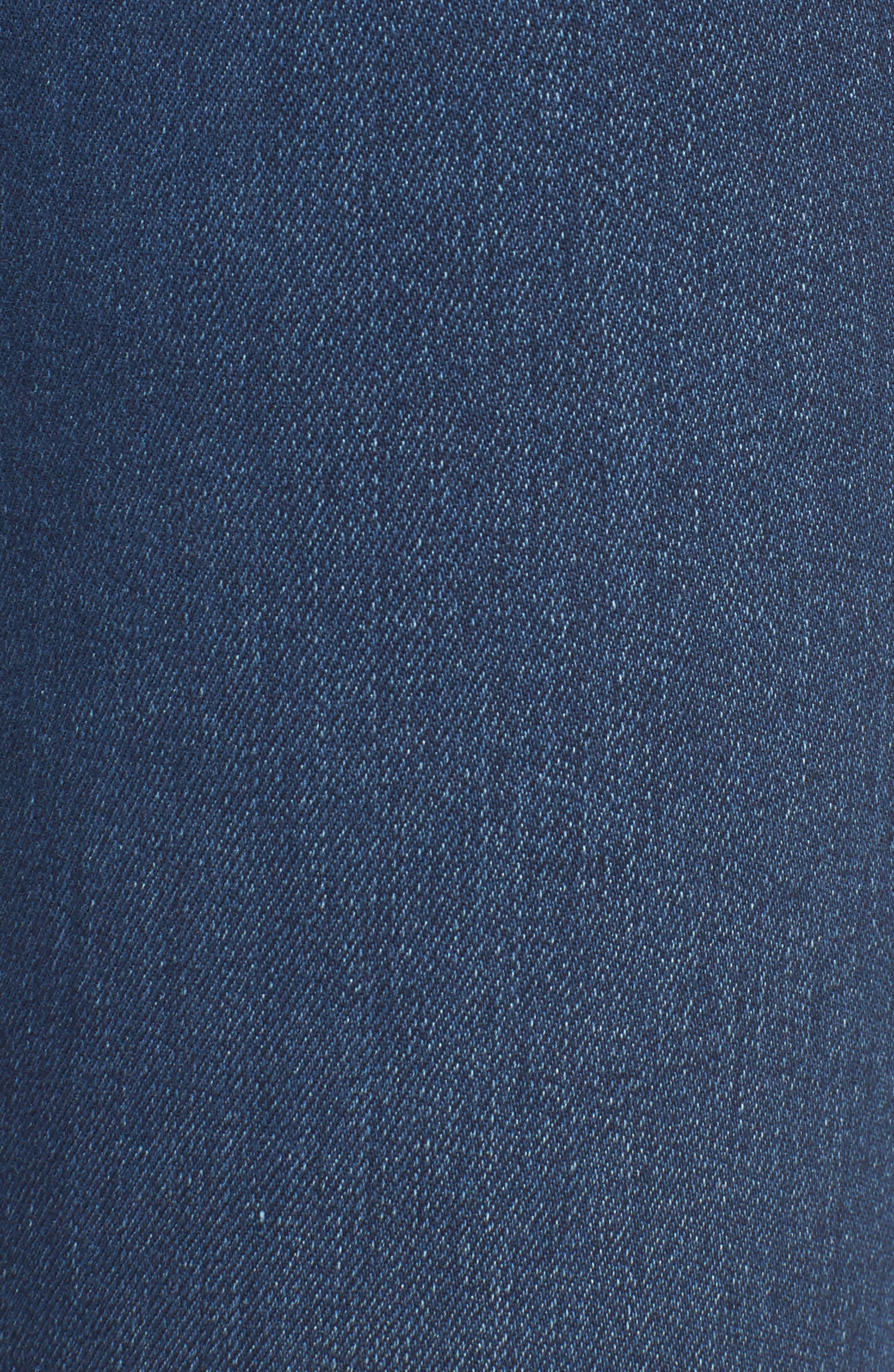 Jennie Curvy Skinny Jeans,                             Alternate thumbnail 5, color,                             Lands End Indigo