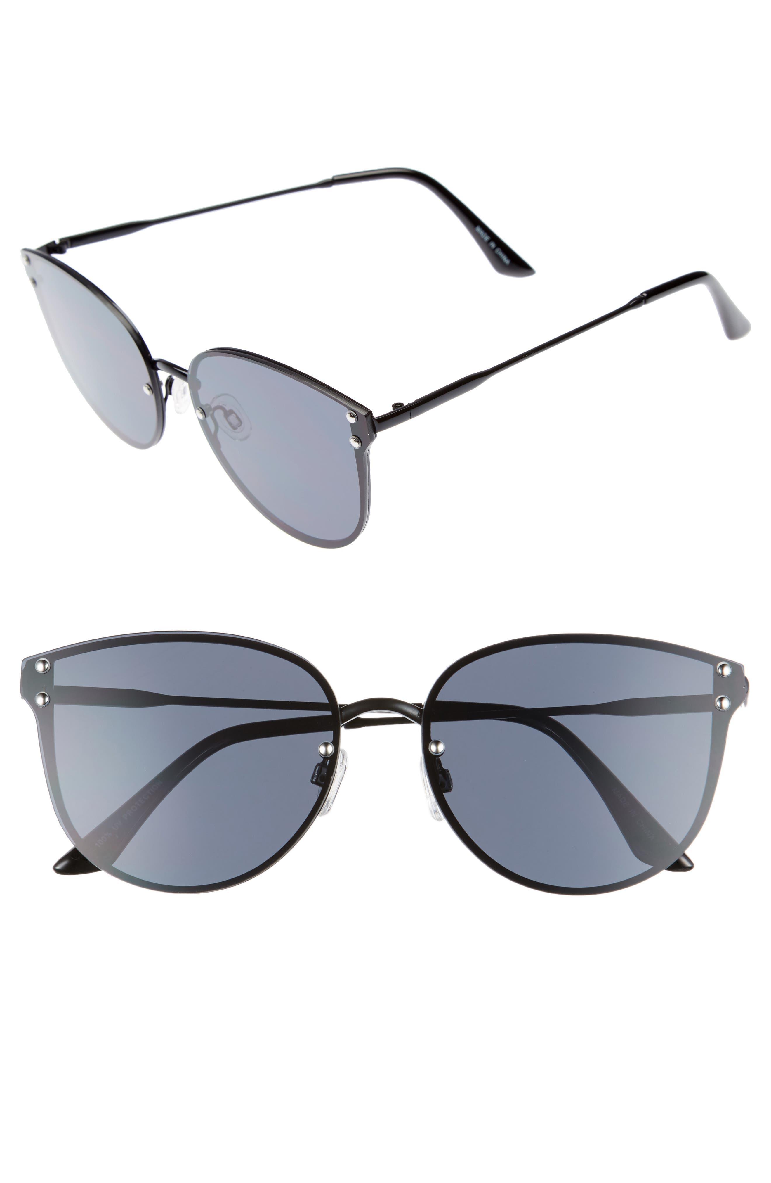LEITH 62mm Sunglasses