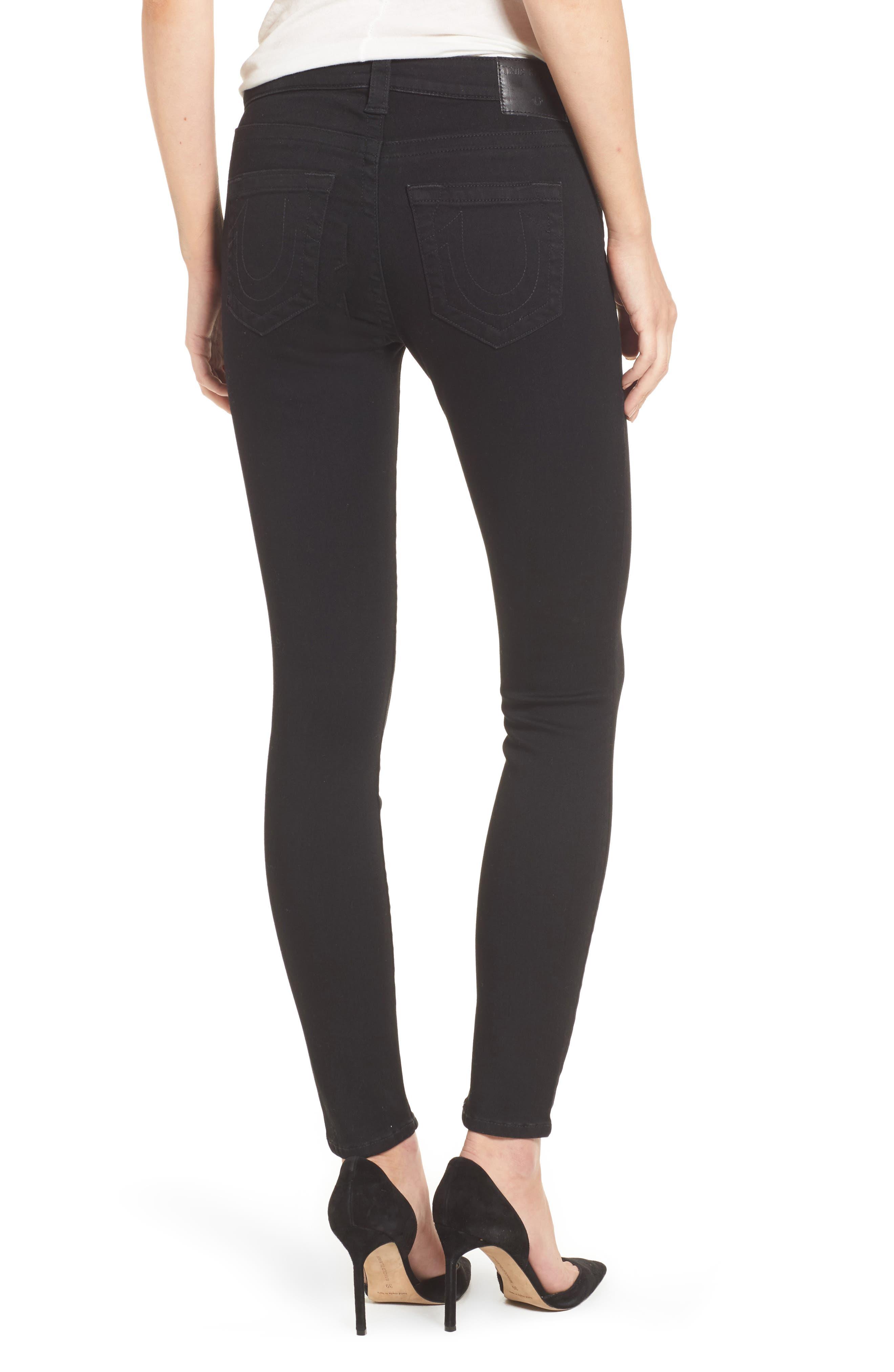 Jennie Curvy Skinny Jeans,                             Alternate thumbnail 2, color,                             Way Back Black