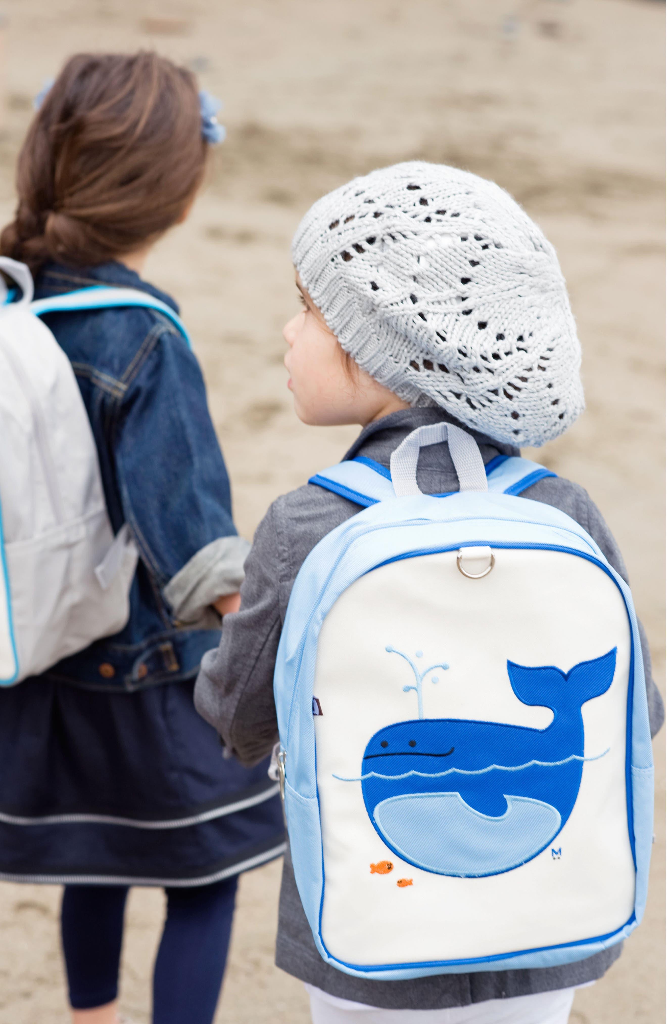 Little Kid Backpack,                             Alternate thumbnail 3, color,                             Lucas The Whale
