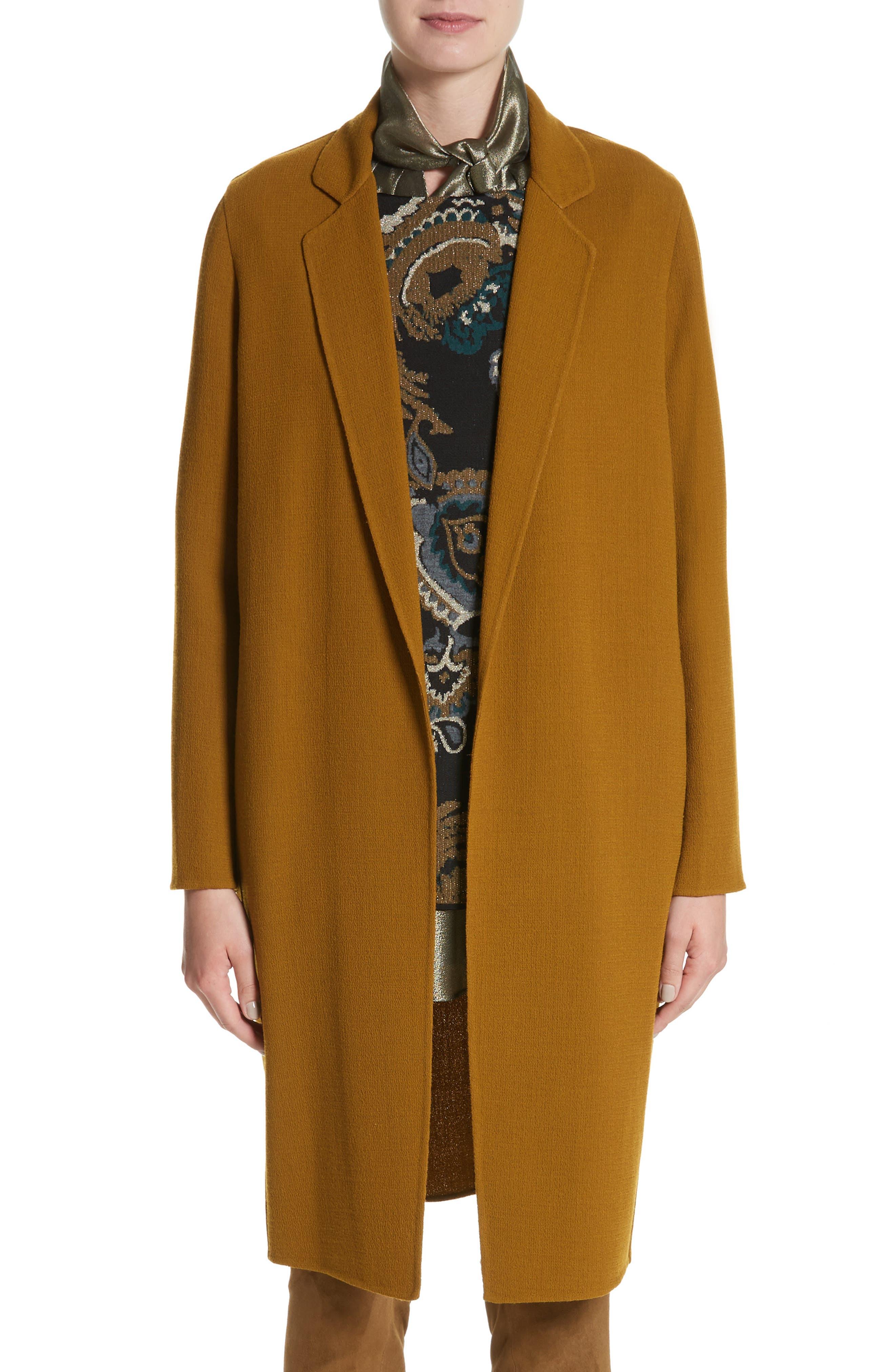 Main Image - Lafayette 148 New York Jolina Nouveau Crepe Jacket