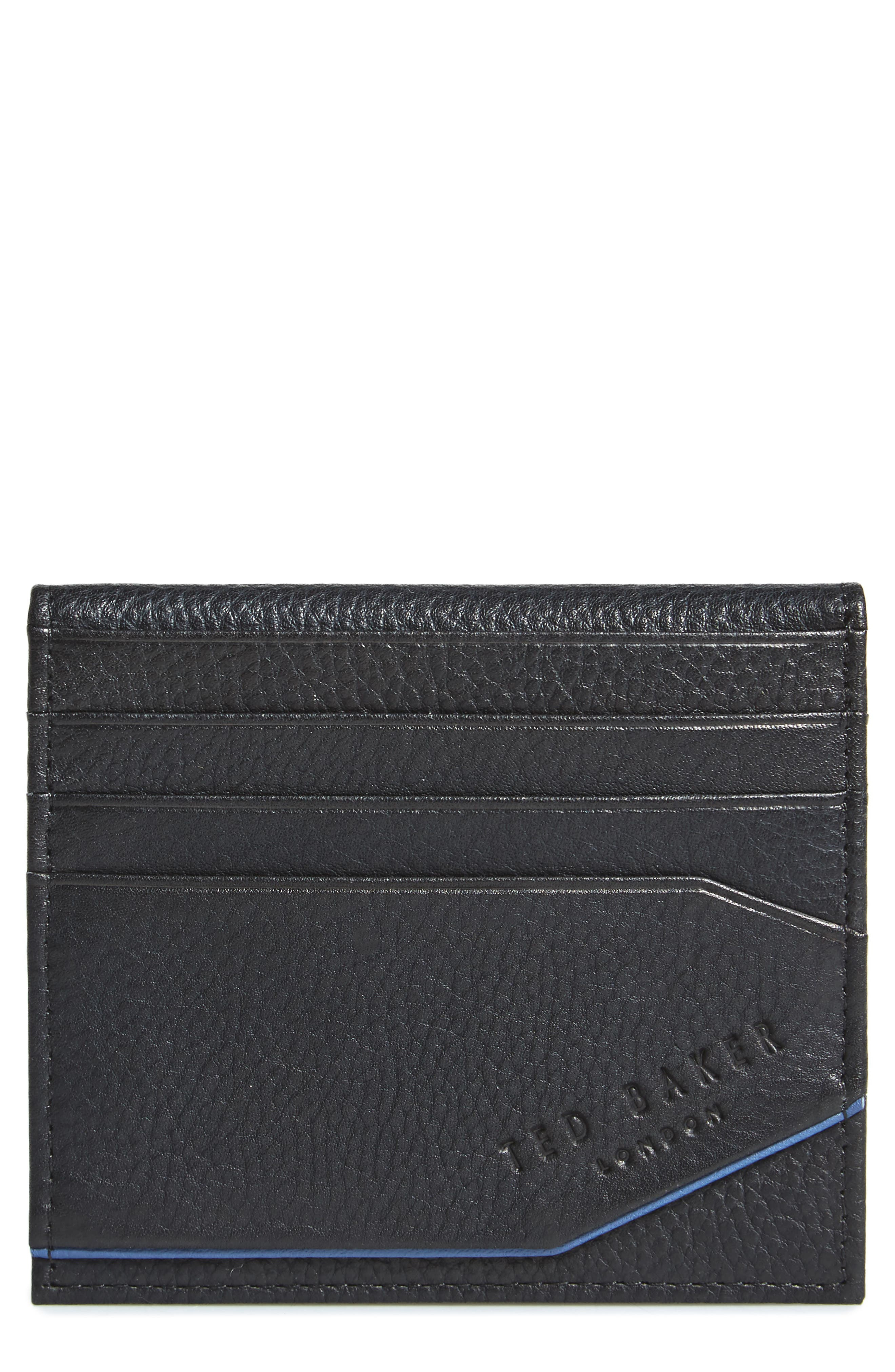 TED BAKER LONDON Pyuma Leather Card Case