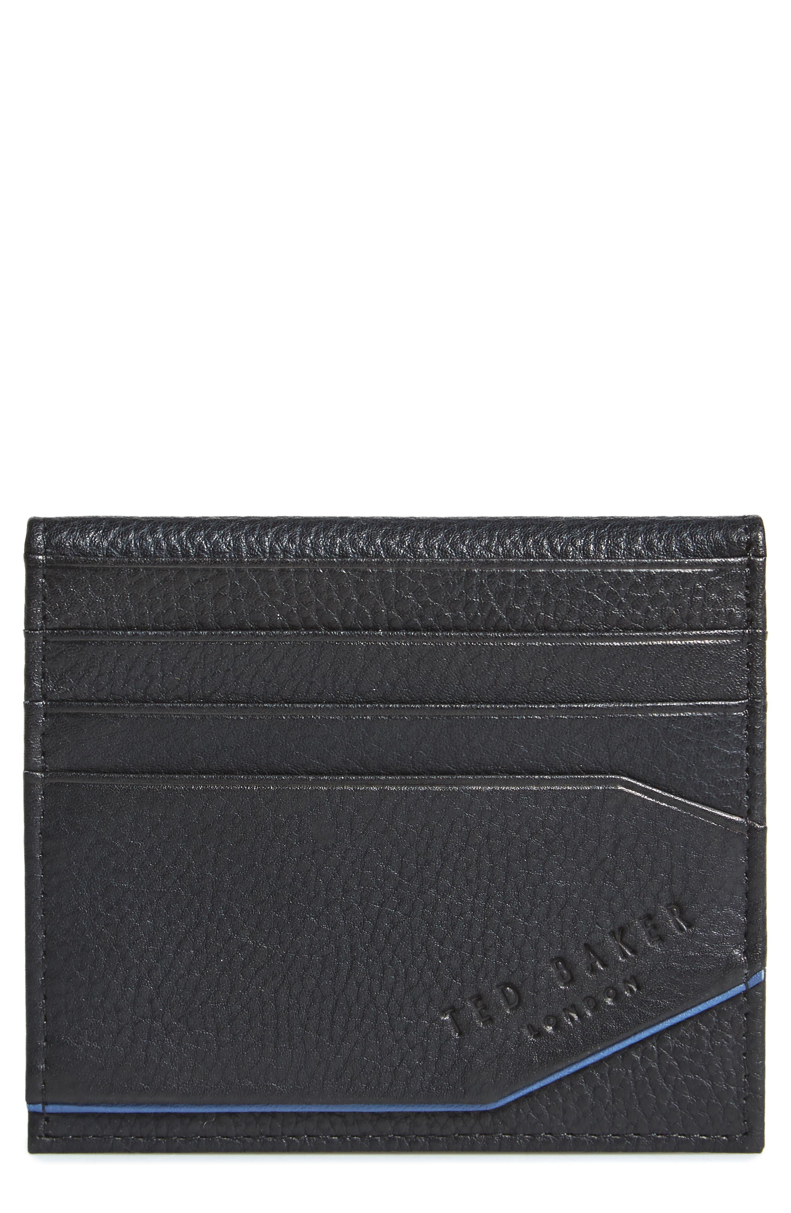 Ted Baker London Pyuma Leather Card Case