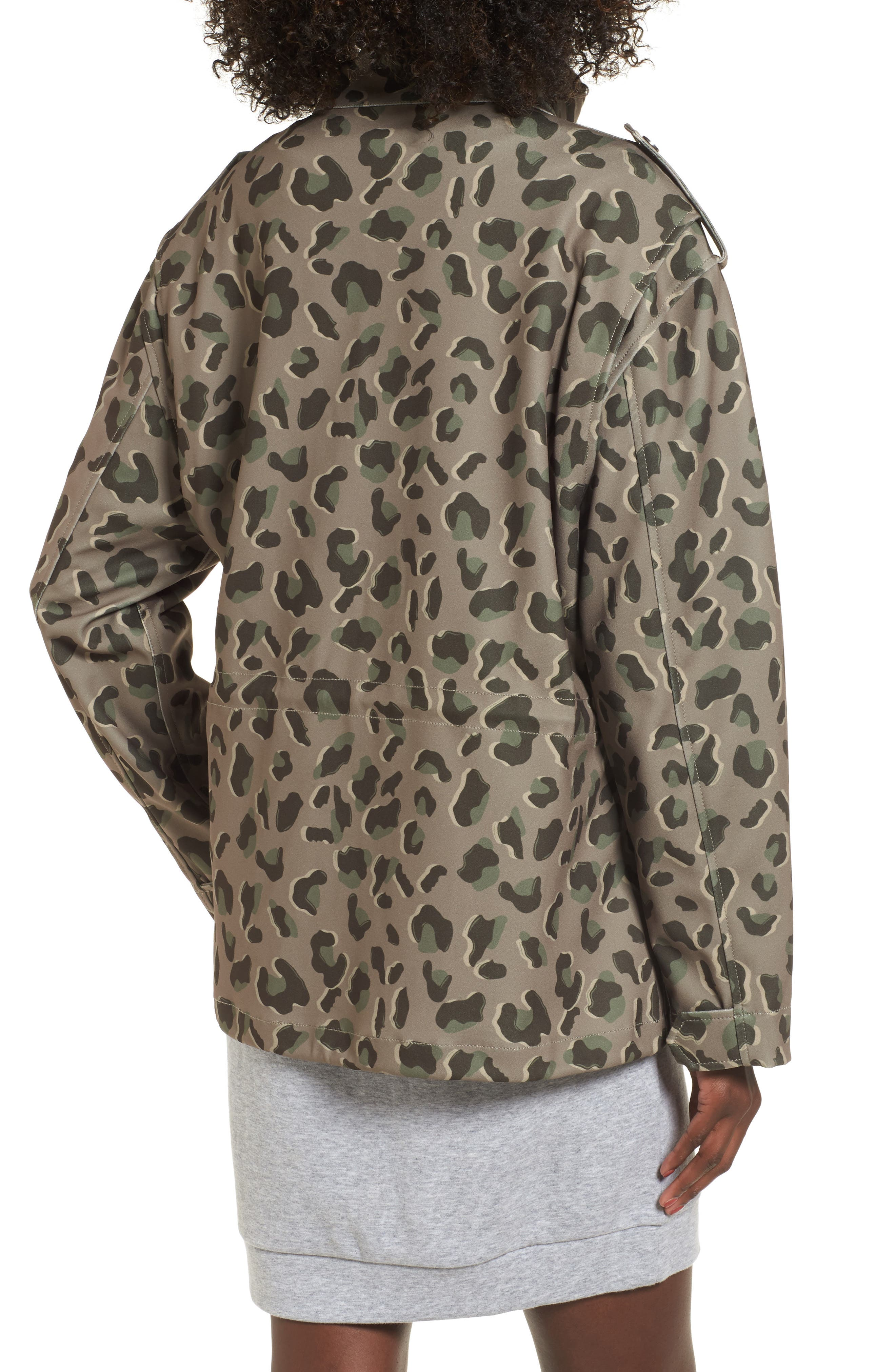 Osy Camo Print Jacket,                             Alternate thumbnail 2, color,                             Camo Print