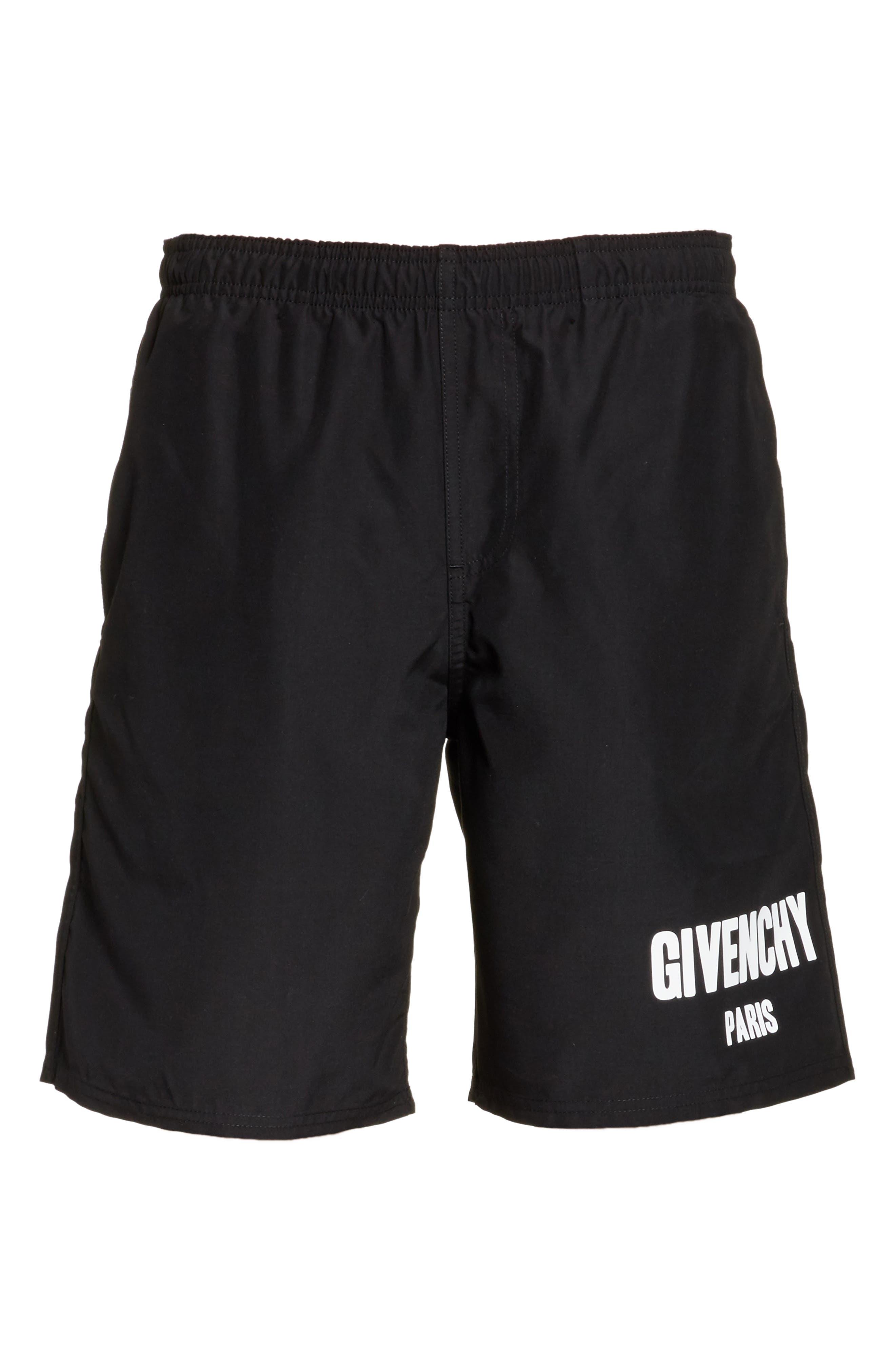 Alternate Image 6  - Givenchy Logo Swim Trunks