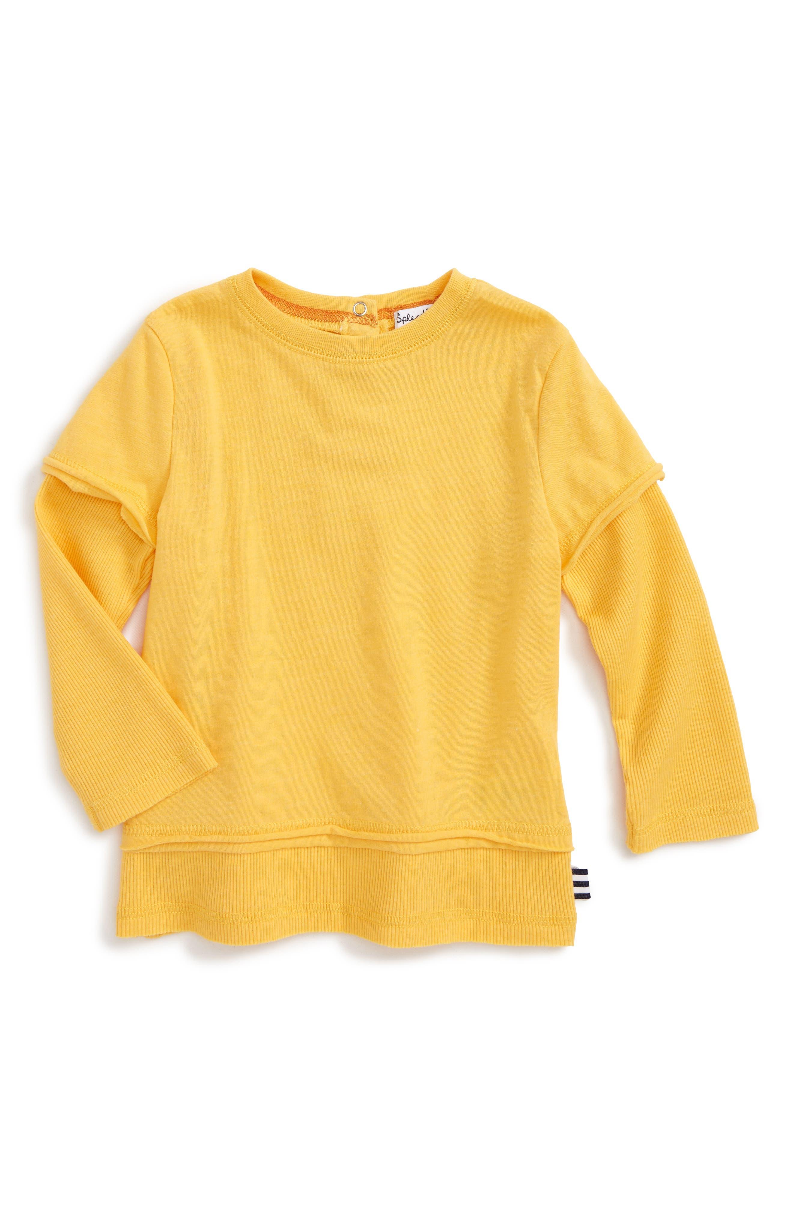 Splendid Long Sleeve T-Shirt (Baby Boys)