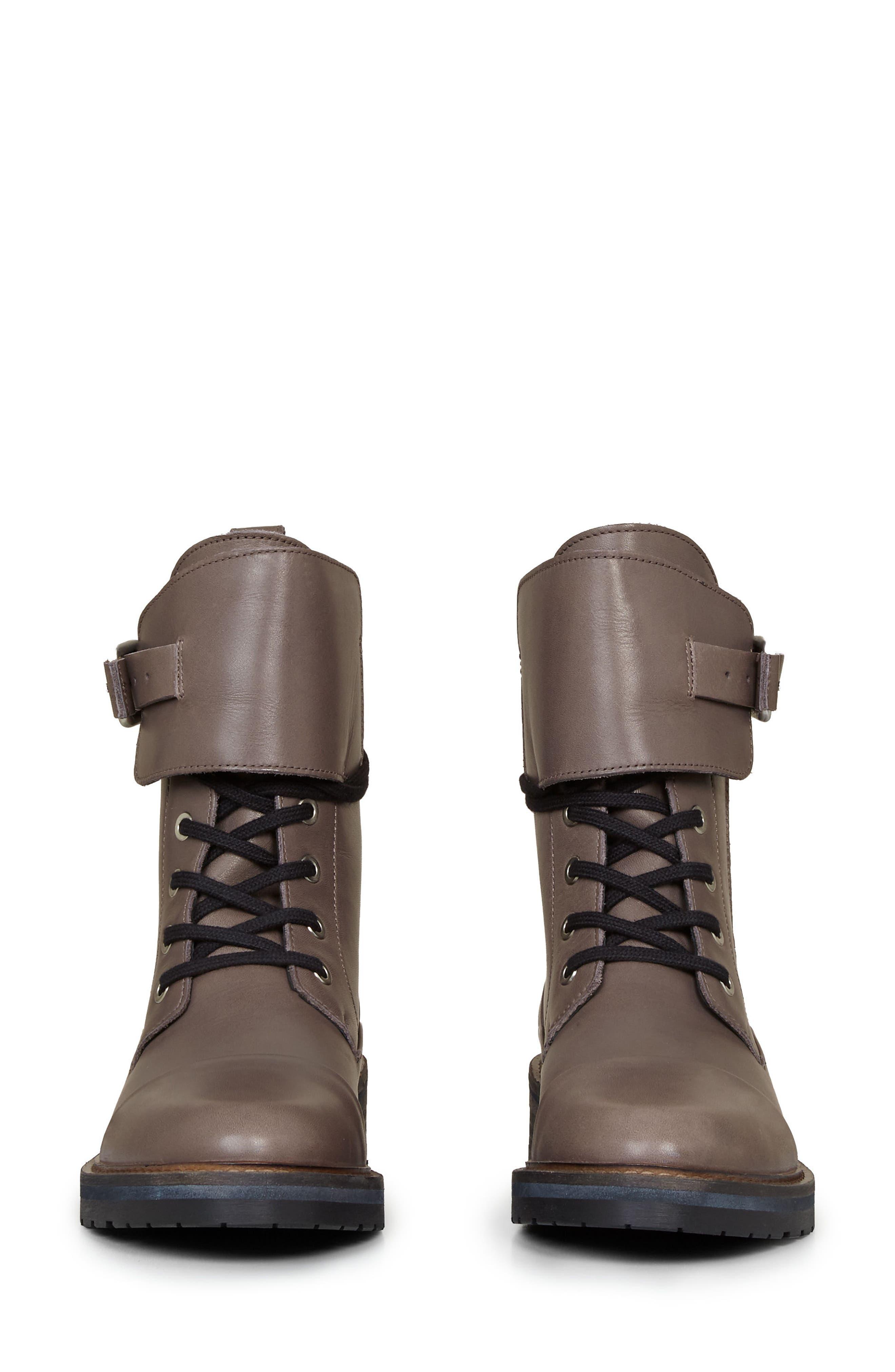 Alternate Image 4  - ALLSAINTS Daria Cuffed Combat Boot (Women)