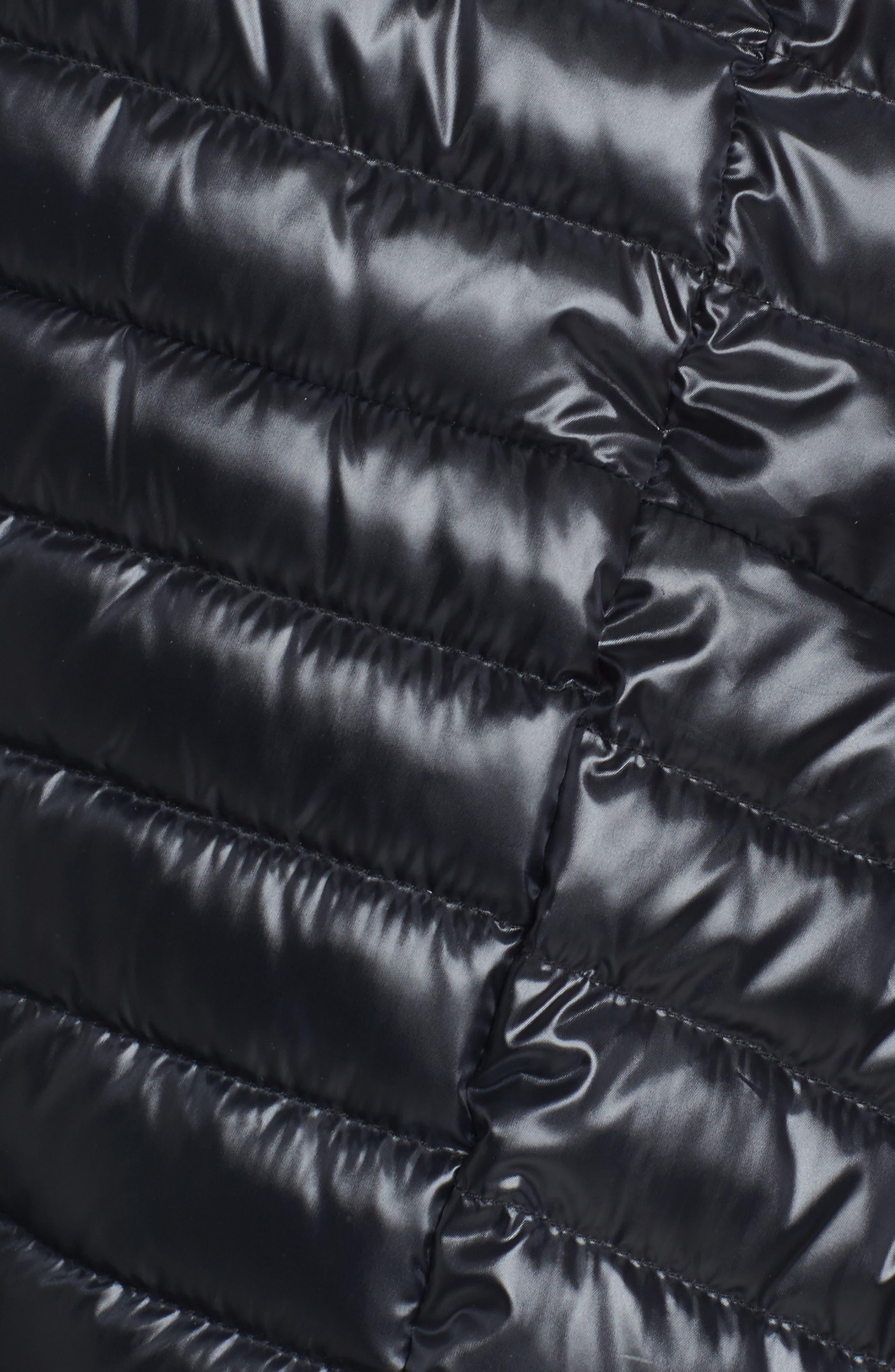 Alternate Image 5  - Sam Edelman Reversible Down & Feather Fill Puffer Jacket