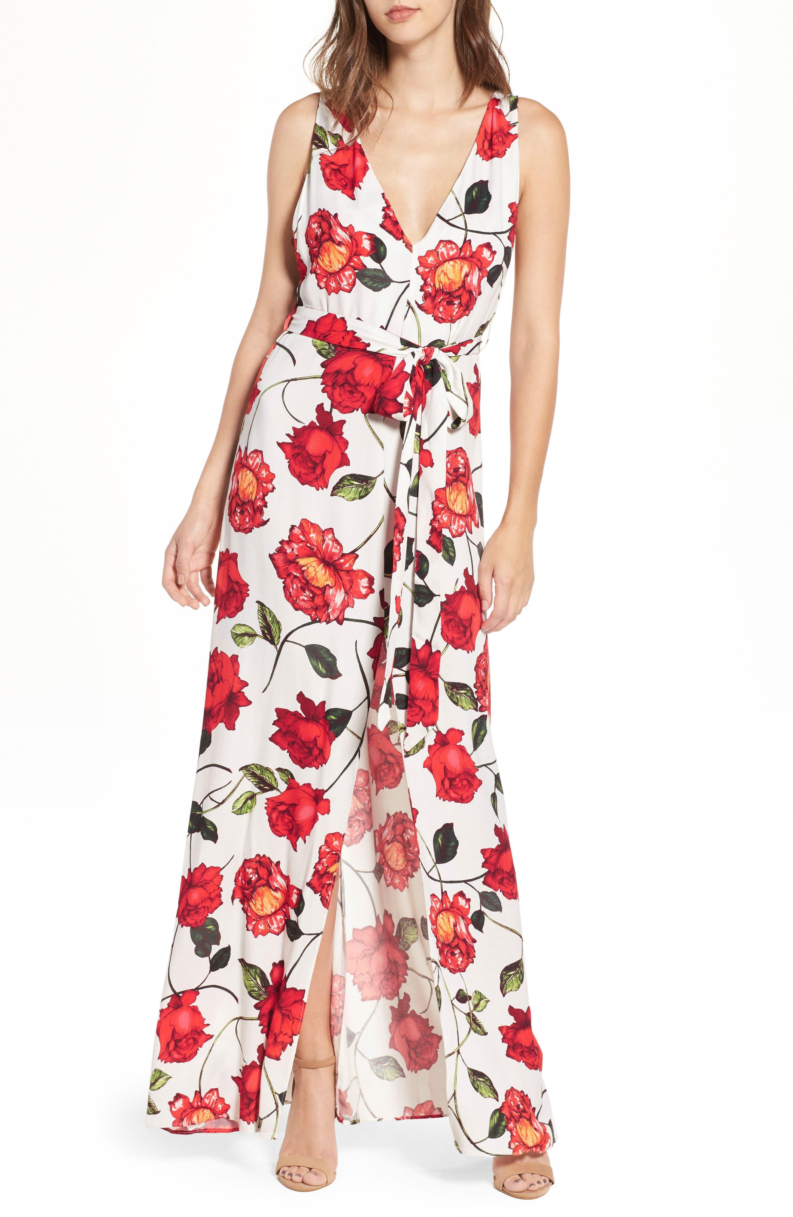 Rowan Maxi Dress,                         Main,                         color, Rosetta
