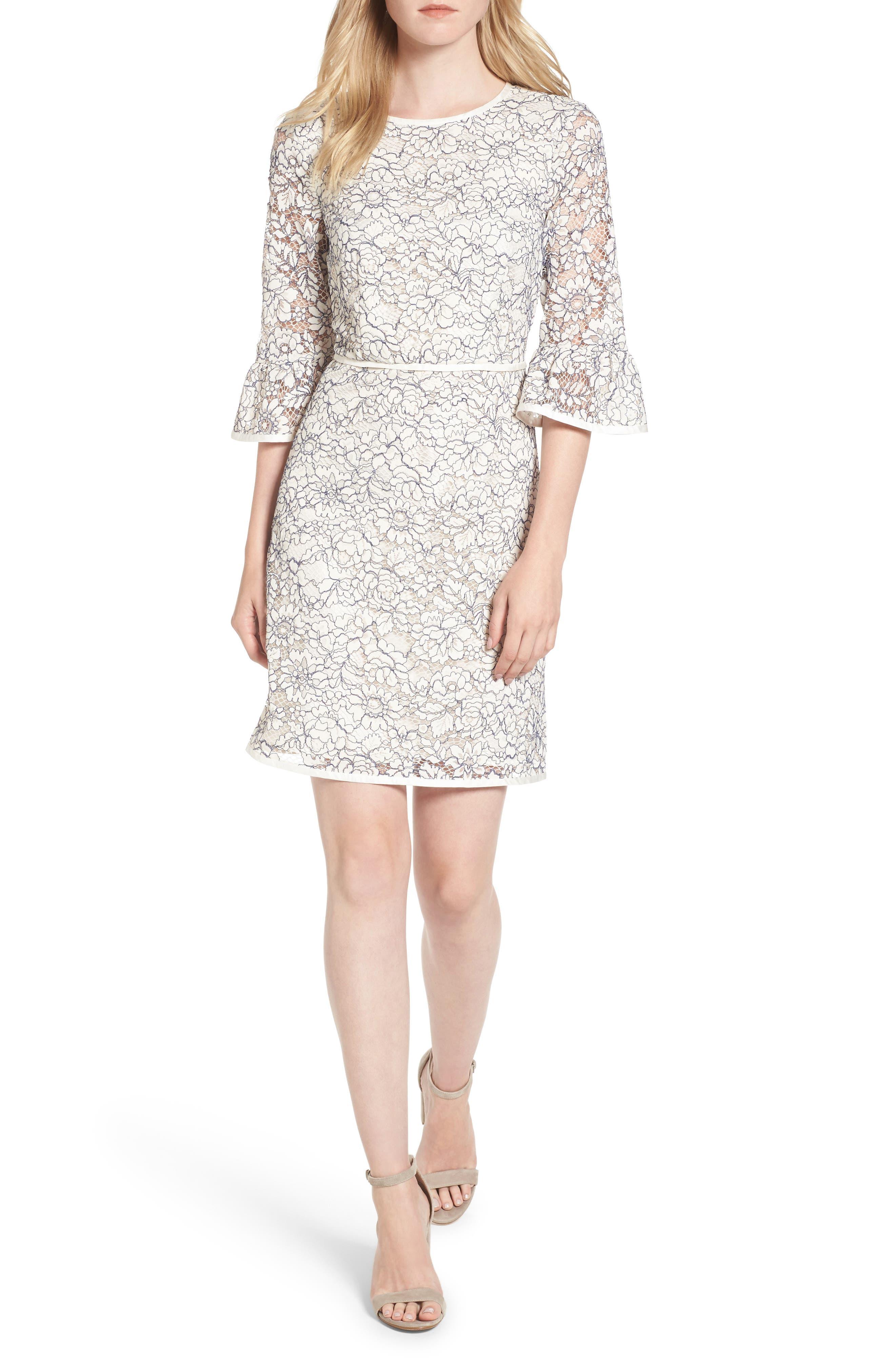 Draper James Lace Rosslyn A-Line Dress