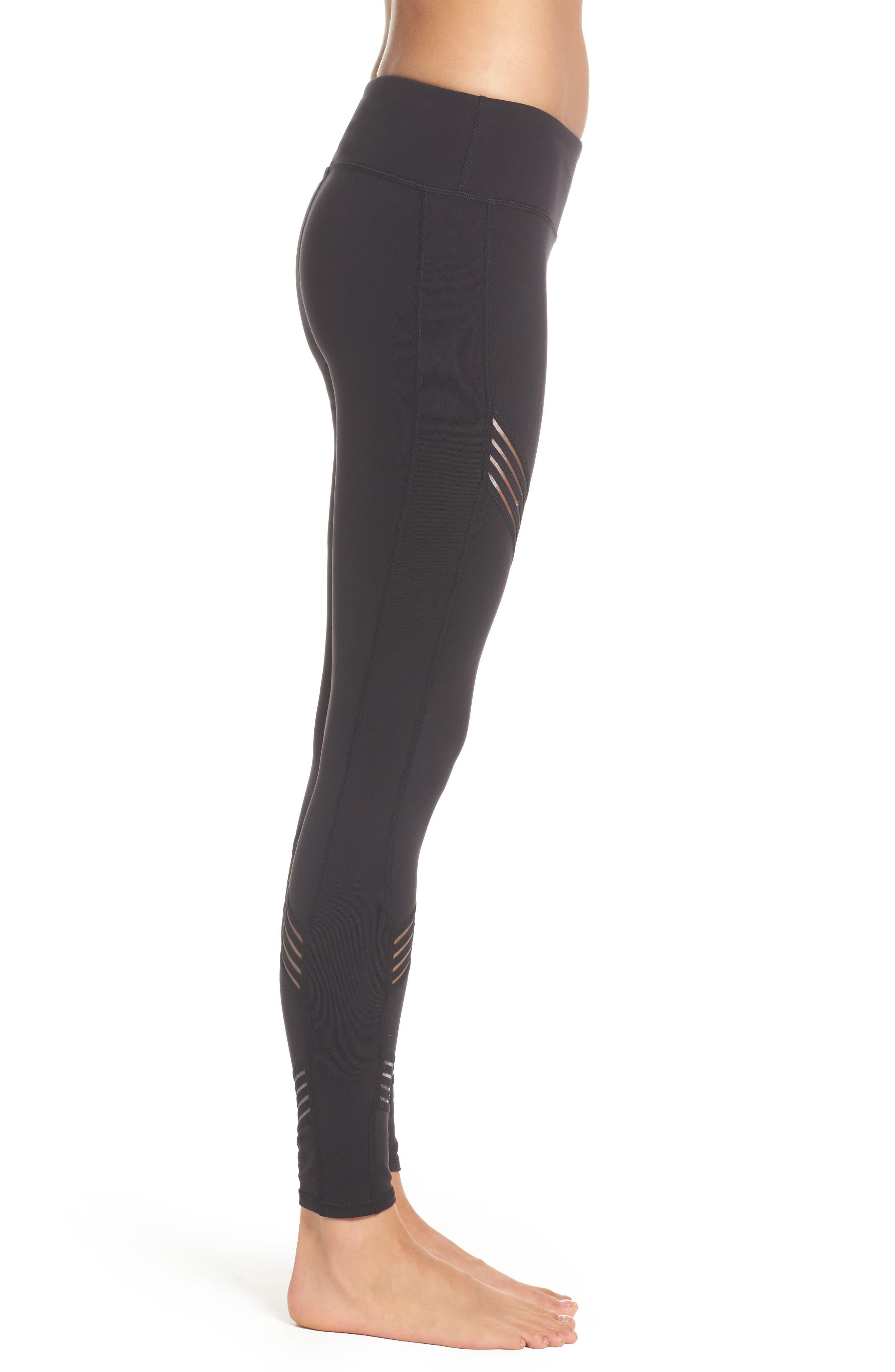 Multi Leggings,                             Alternate thumbnail 3, color,                             Black