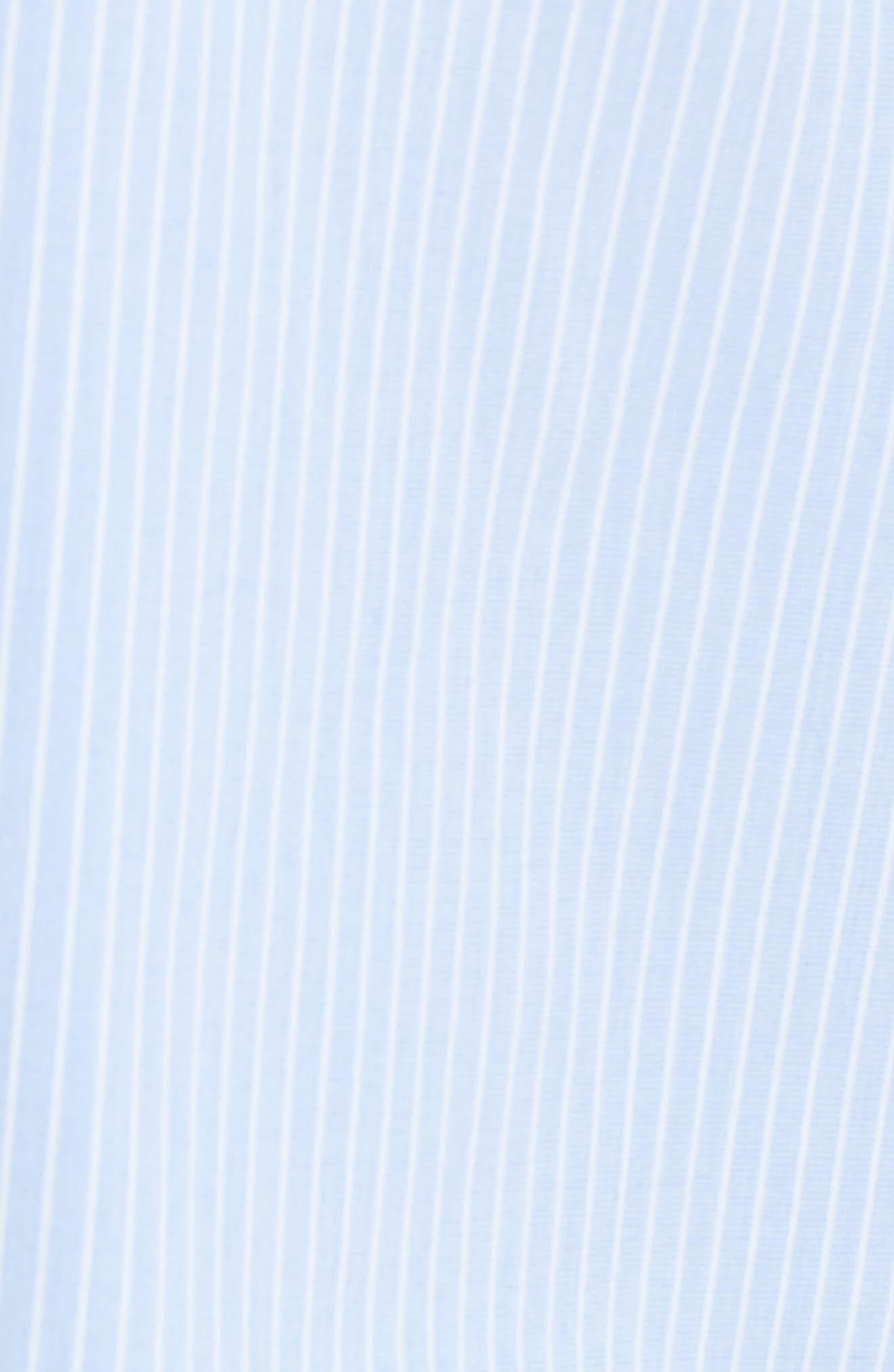 Alternate Image 9  - Halogen® Poplin Boyfriend Tunic (Regular & Petite)