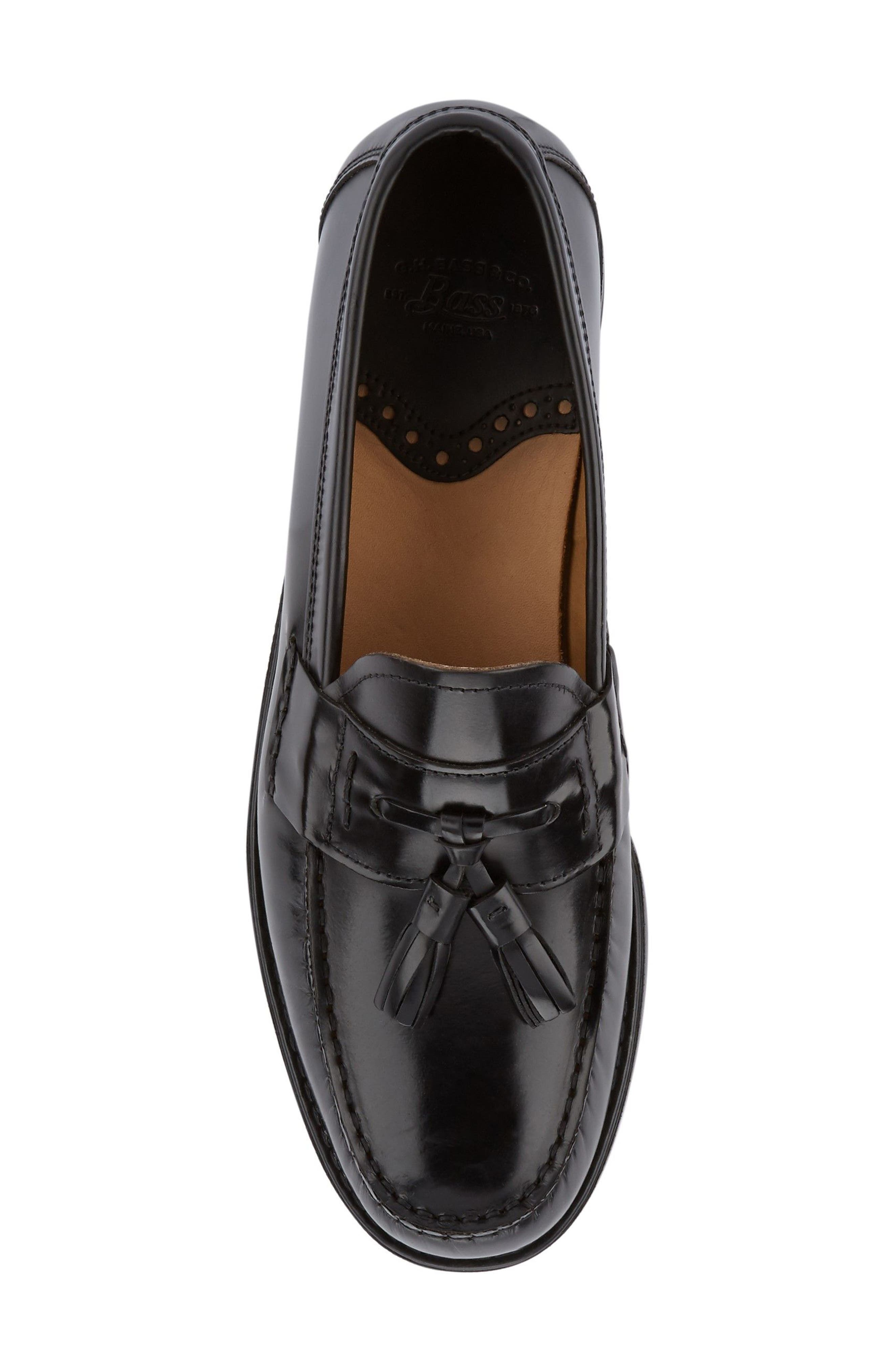 Alternate Image 4  - G.H. Bass & Co. Wallace Tassel Loafer (Men)