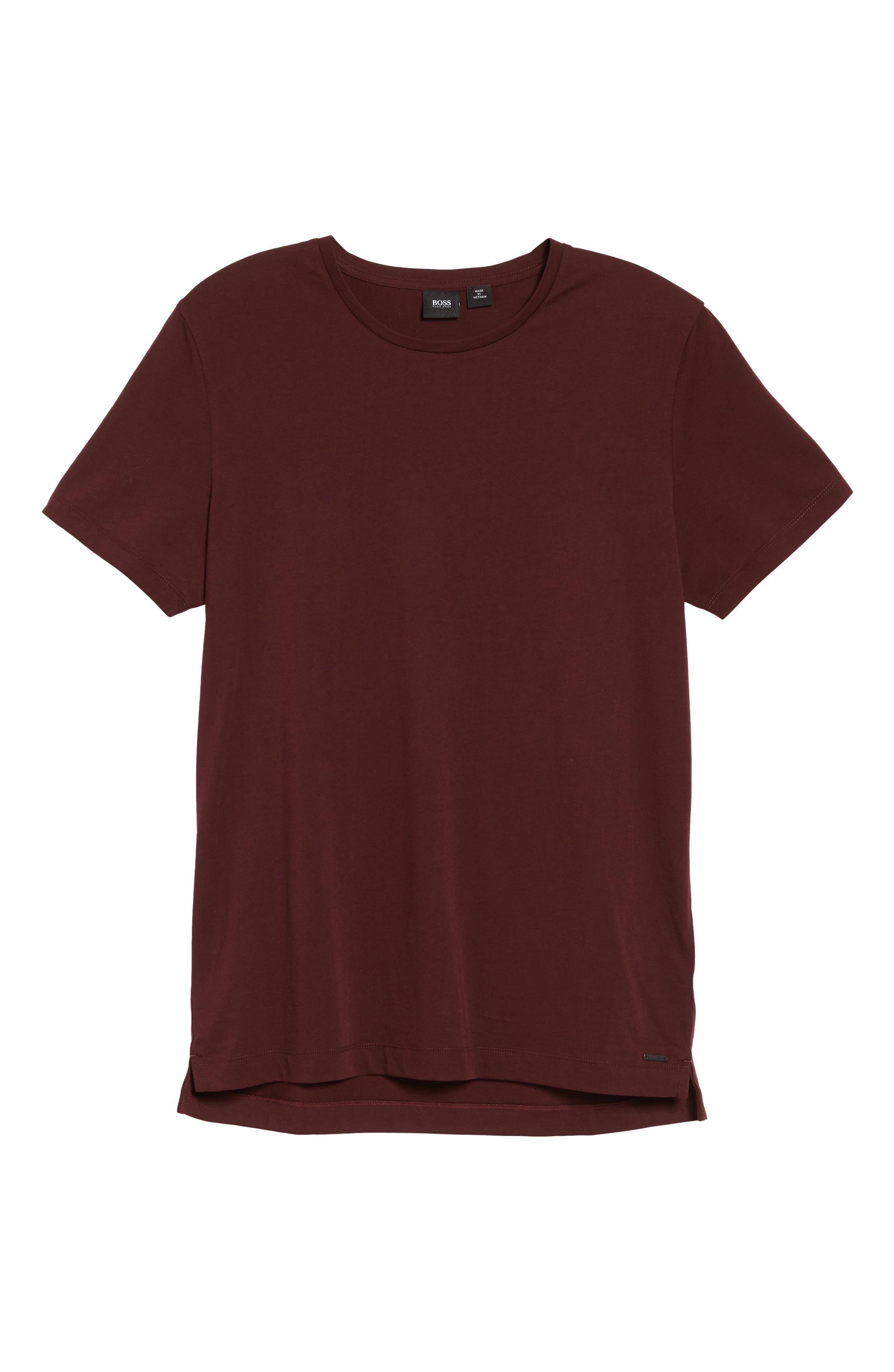 Tessler Crewneck T-Shirt,                             Alternate thumbnail 10, color,                             Black