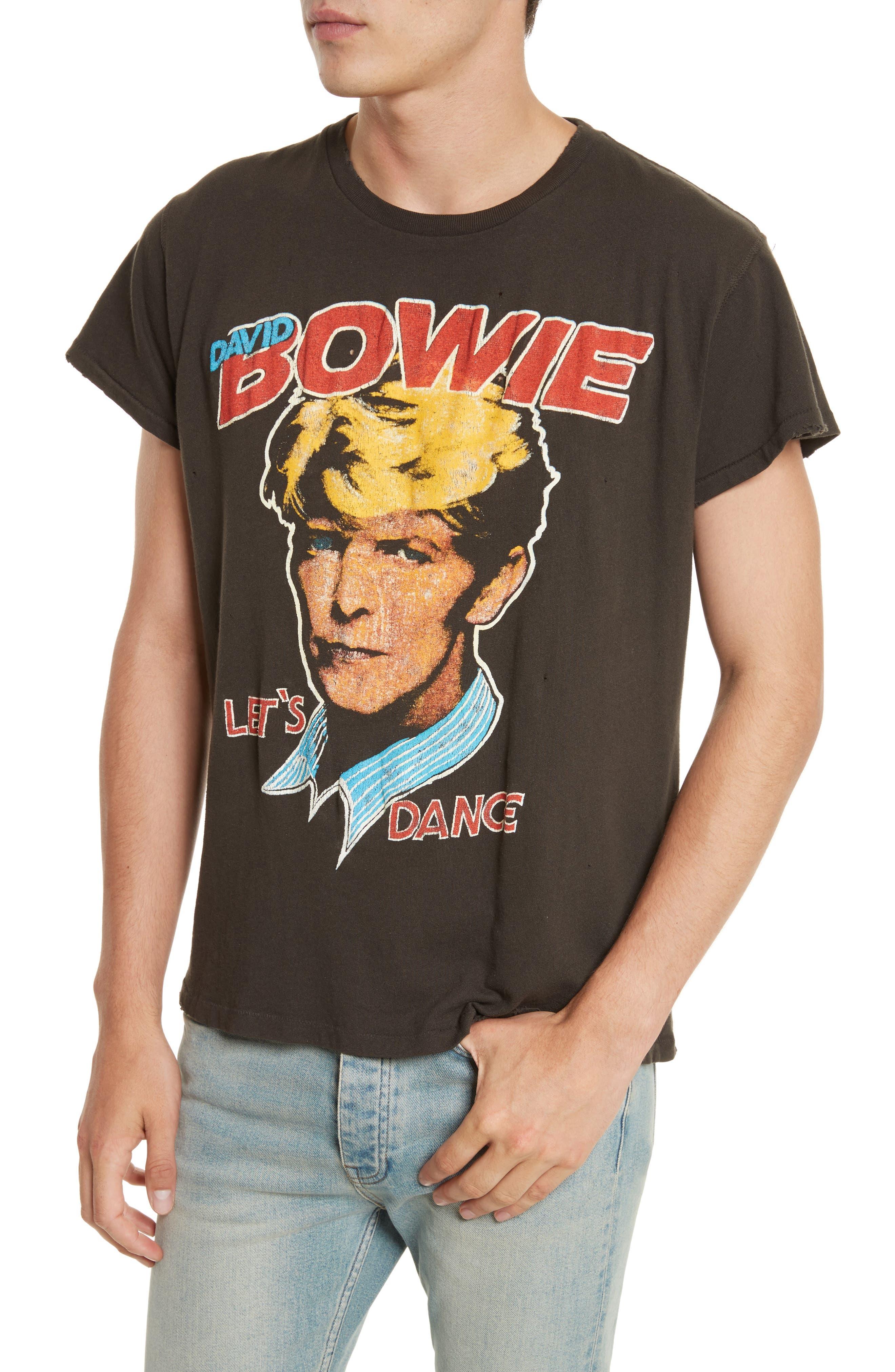 Alternate Image 4  - Madeworn David Bowie Graphic T-Shirt