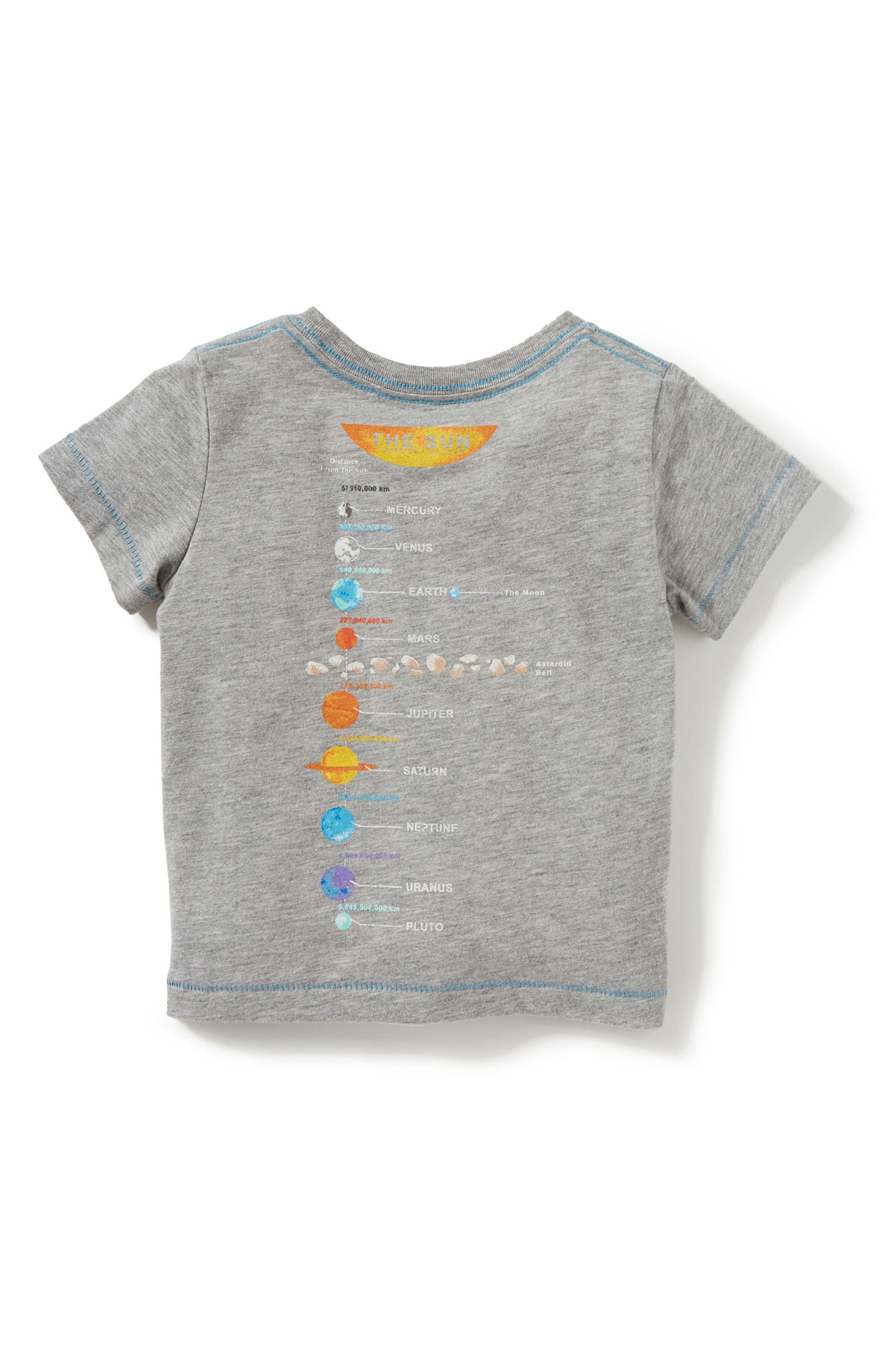 Everything Revolves Around Me T-Shirt,                             Alternate thumbnail 2, color,                             Light Heather Grey
