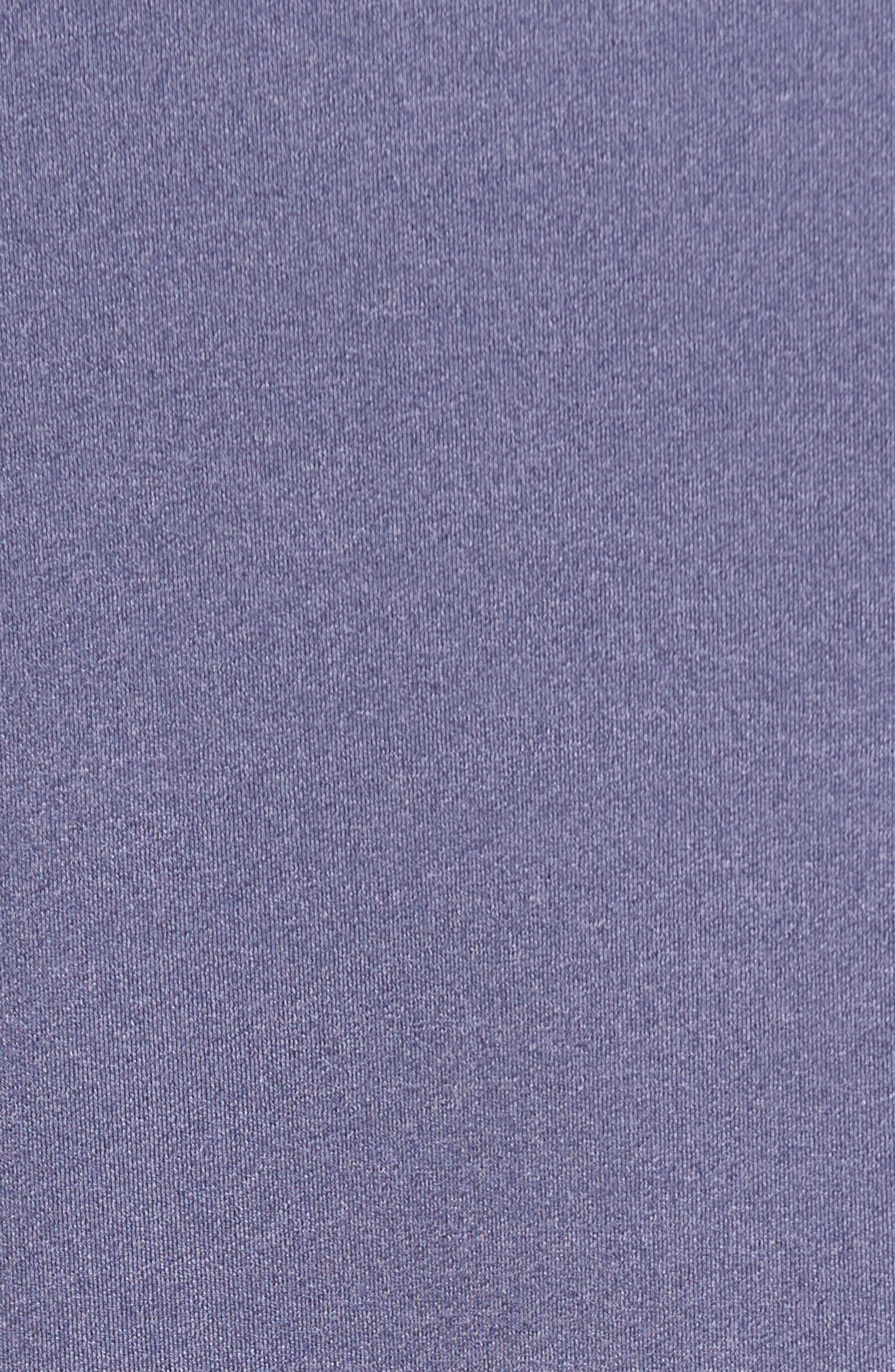 Perth Quarter Zip Stretch Pullover,                             Alternate thumbnail 5, color,                             Blackberry