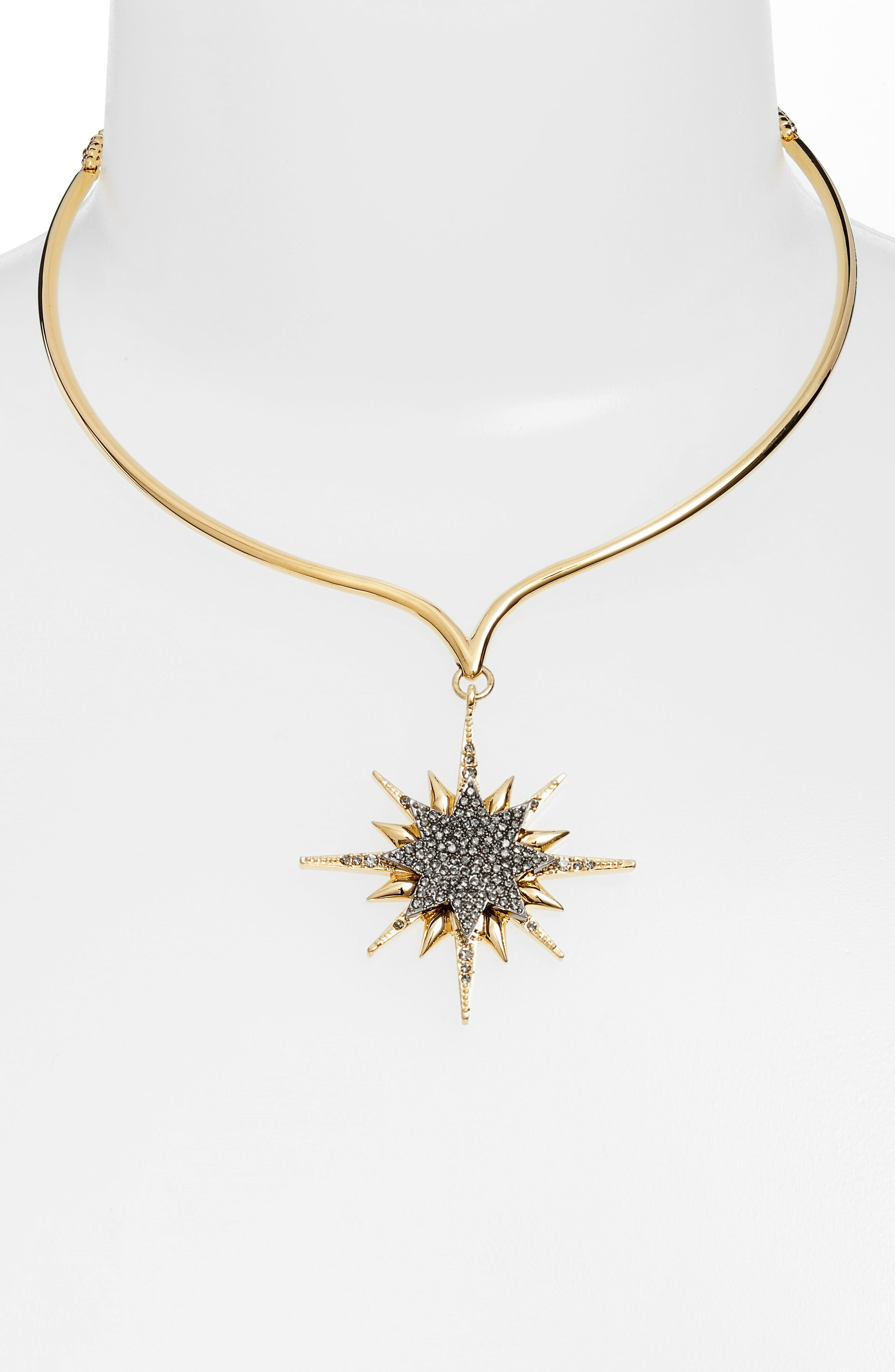 Vince Camuto Crystal Celestial Collar Necklace