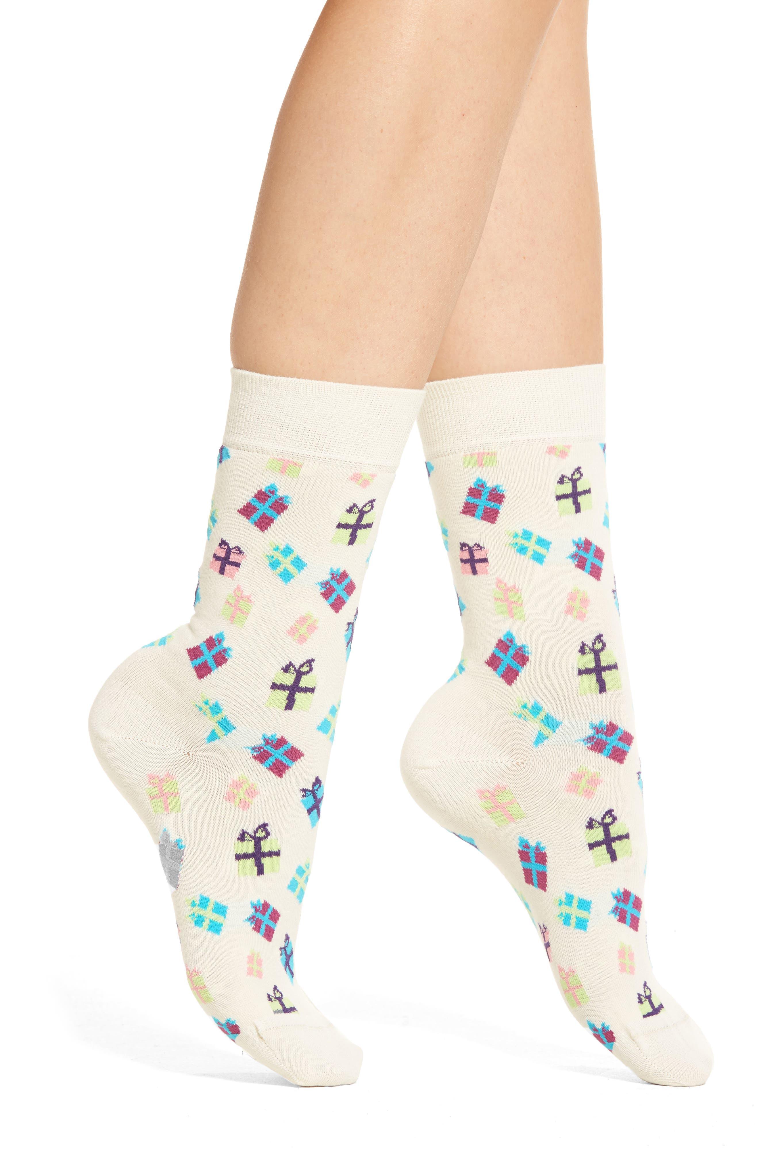 Happy Socks Christmas Gifts Crew Socks (3 for $24)