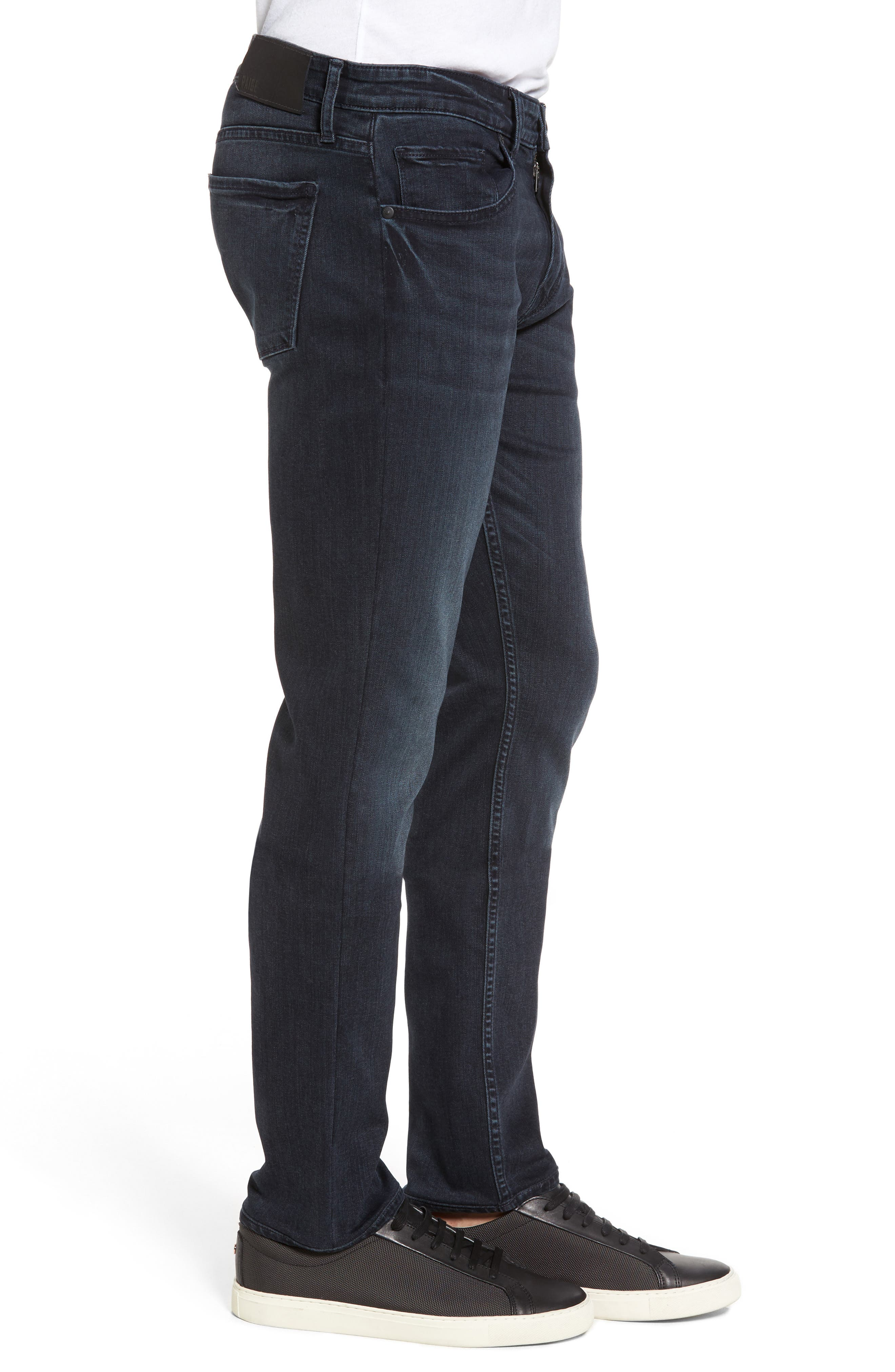 Straight Leg Jeans,                             Alternate thumbnail 3, color,                             Dark Grey