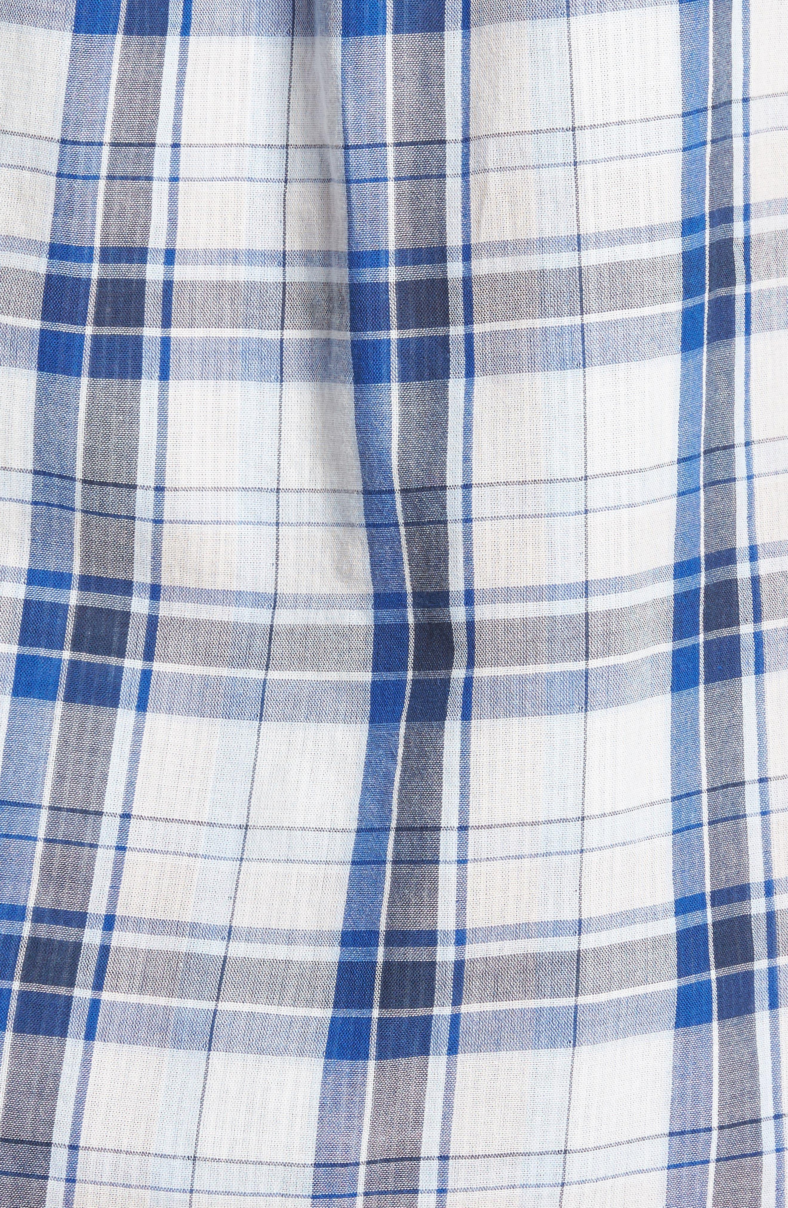 Alternate Image 5  - Tommy Bahama Aladdin Standard Fit Plaid Sport Shirt