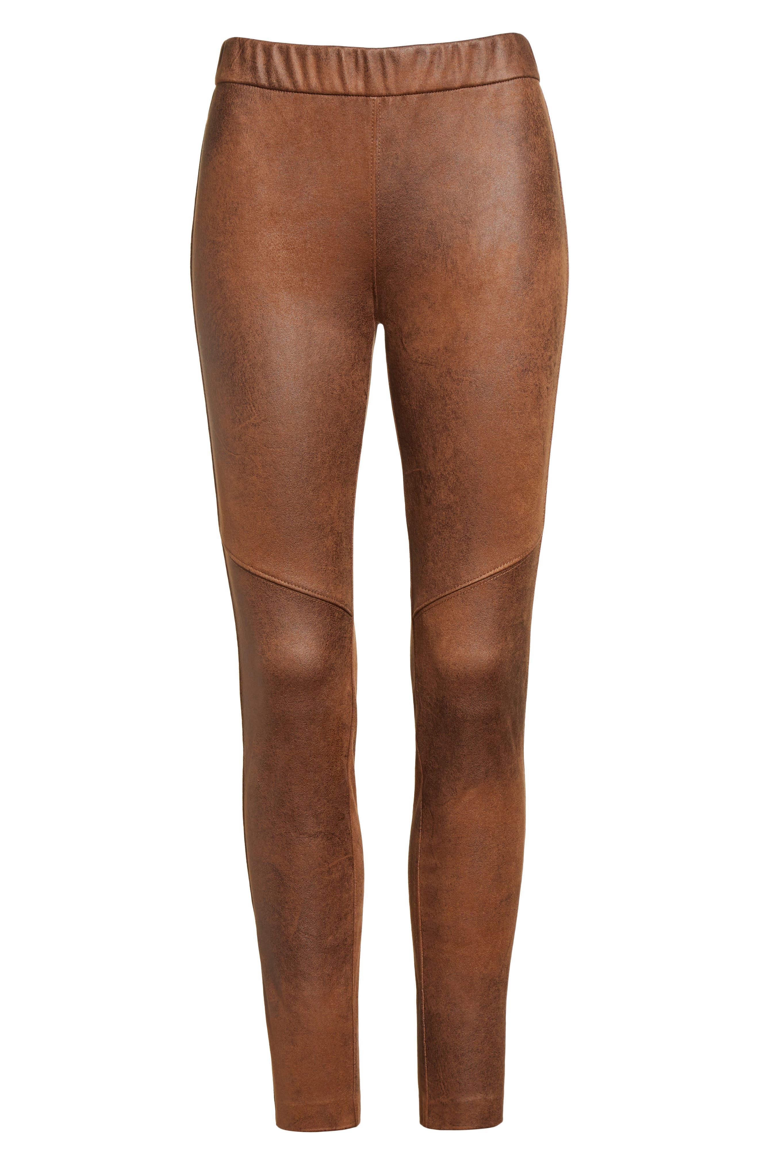 Free People Faux Leather Leggings