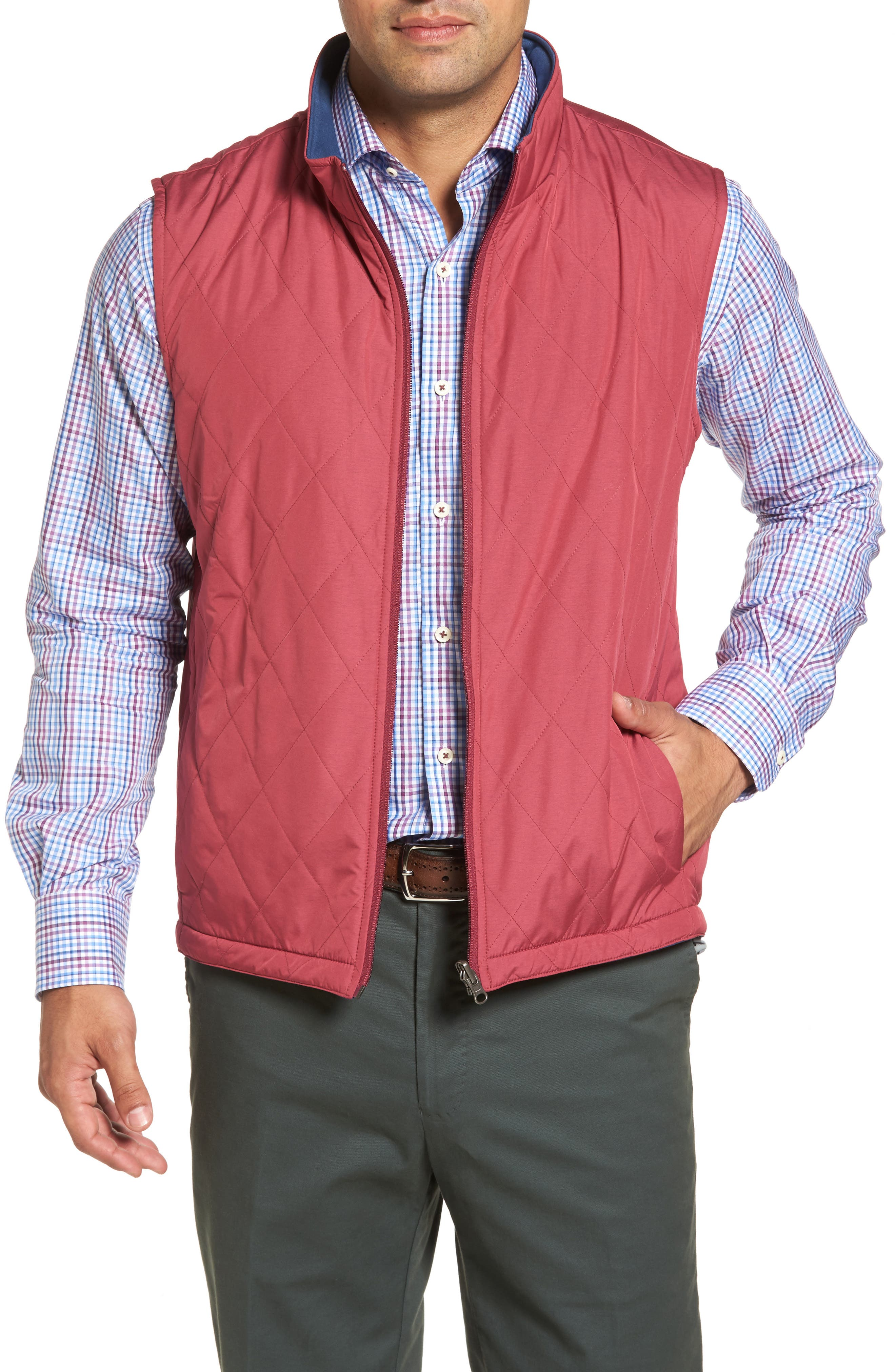 Peter Millar Mitchell Reversible Quilted Vest