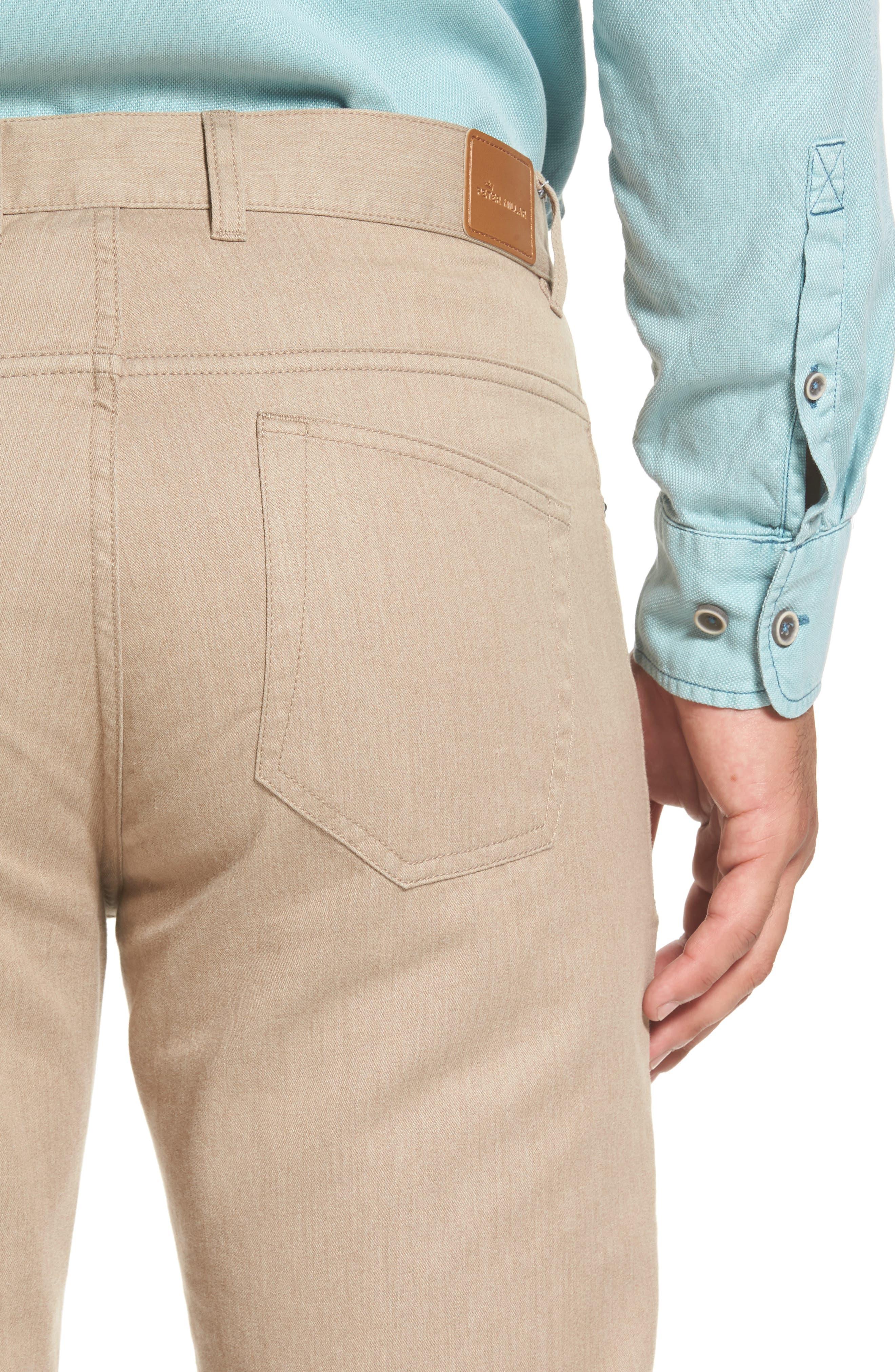 Alternate Image 4  - Peter Millar Mélange Five-Pocket Pants