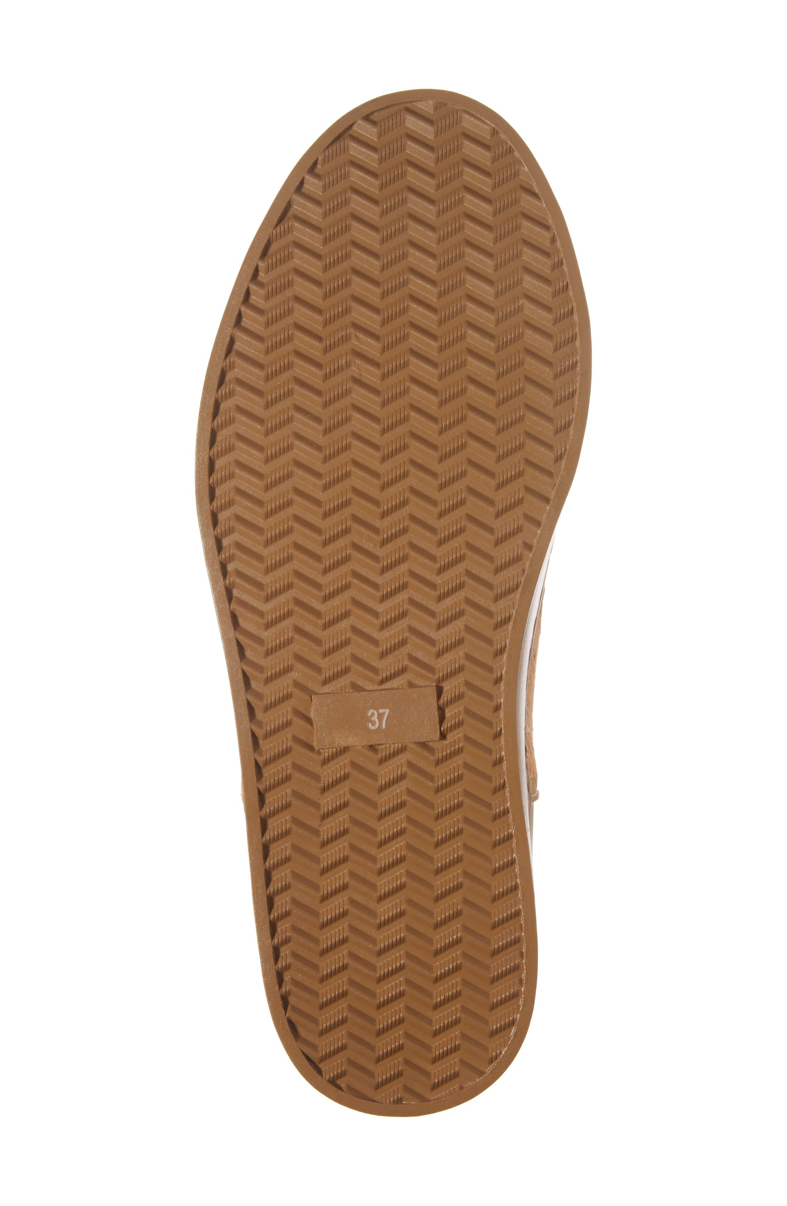 Varsity Slip-On Sneaker,                             Alternate thumbnail 6, color,                             Taupe