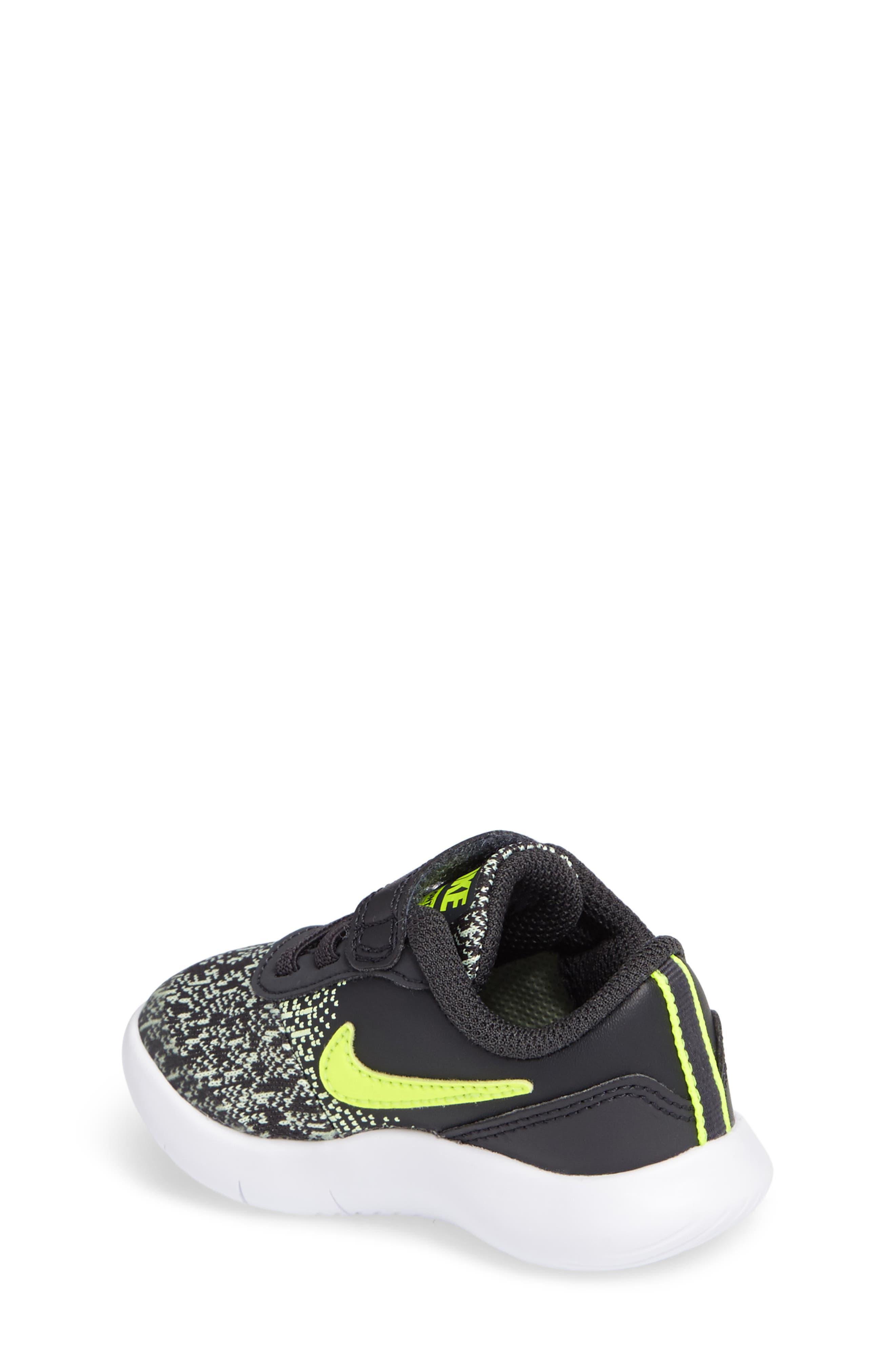 Alternate Image 2  - Nike Flex Contact Sneaker (Baby, Walker & Toddler)
