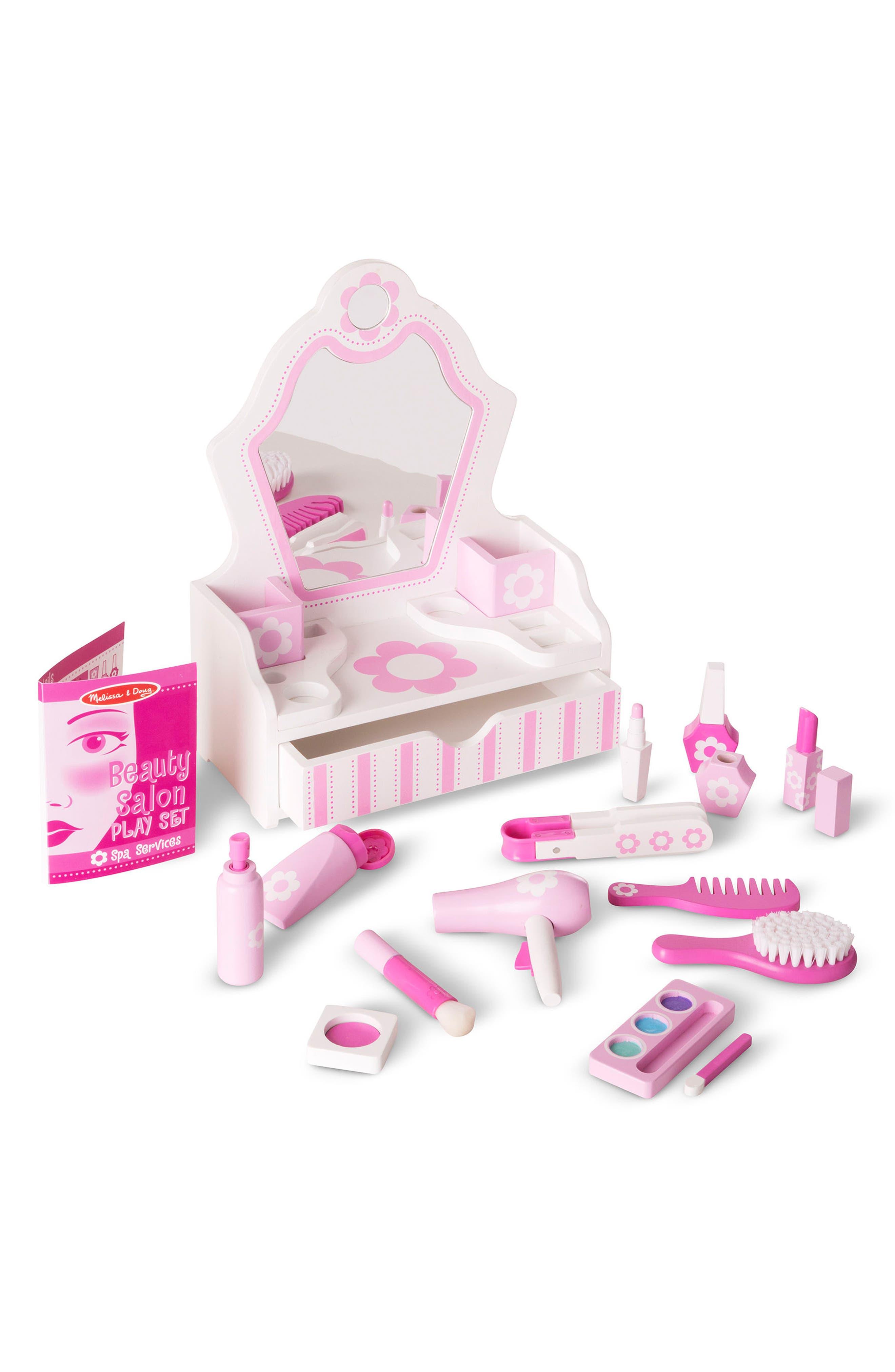 Vanity Play Set,                             Alternate thumbnail 2, color,                             Pink Multi