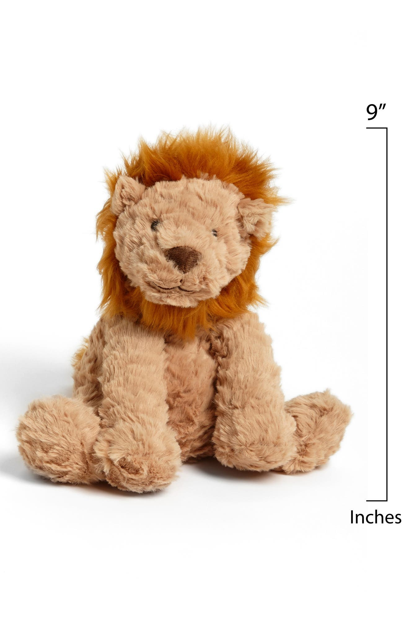 Alternate Image 2  - Jellycat 'Fuddlewuddle Lion' Stuffed Animal
