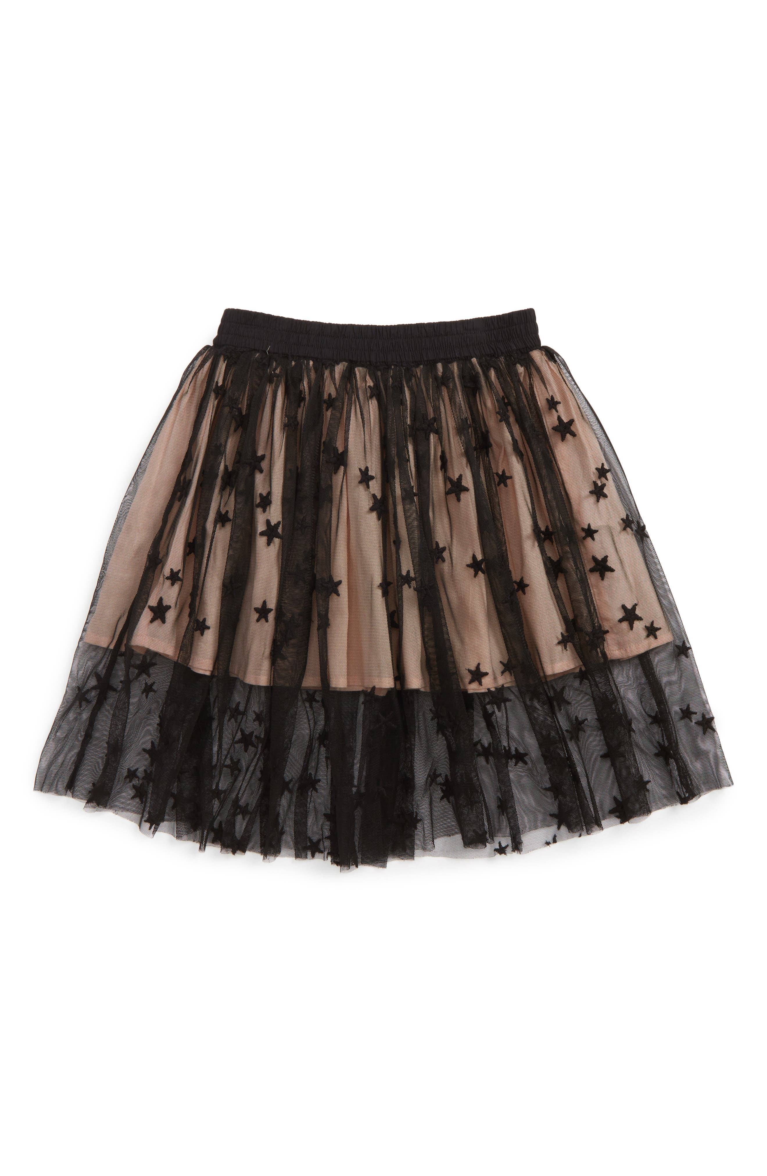 Alternate Image 1 Selected - Stella McCartney Kids Amalie Star Tulle Skirt (Toddler Girls, Little Girls & Big Girls)