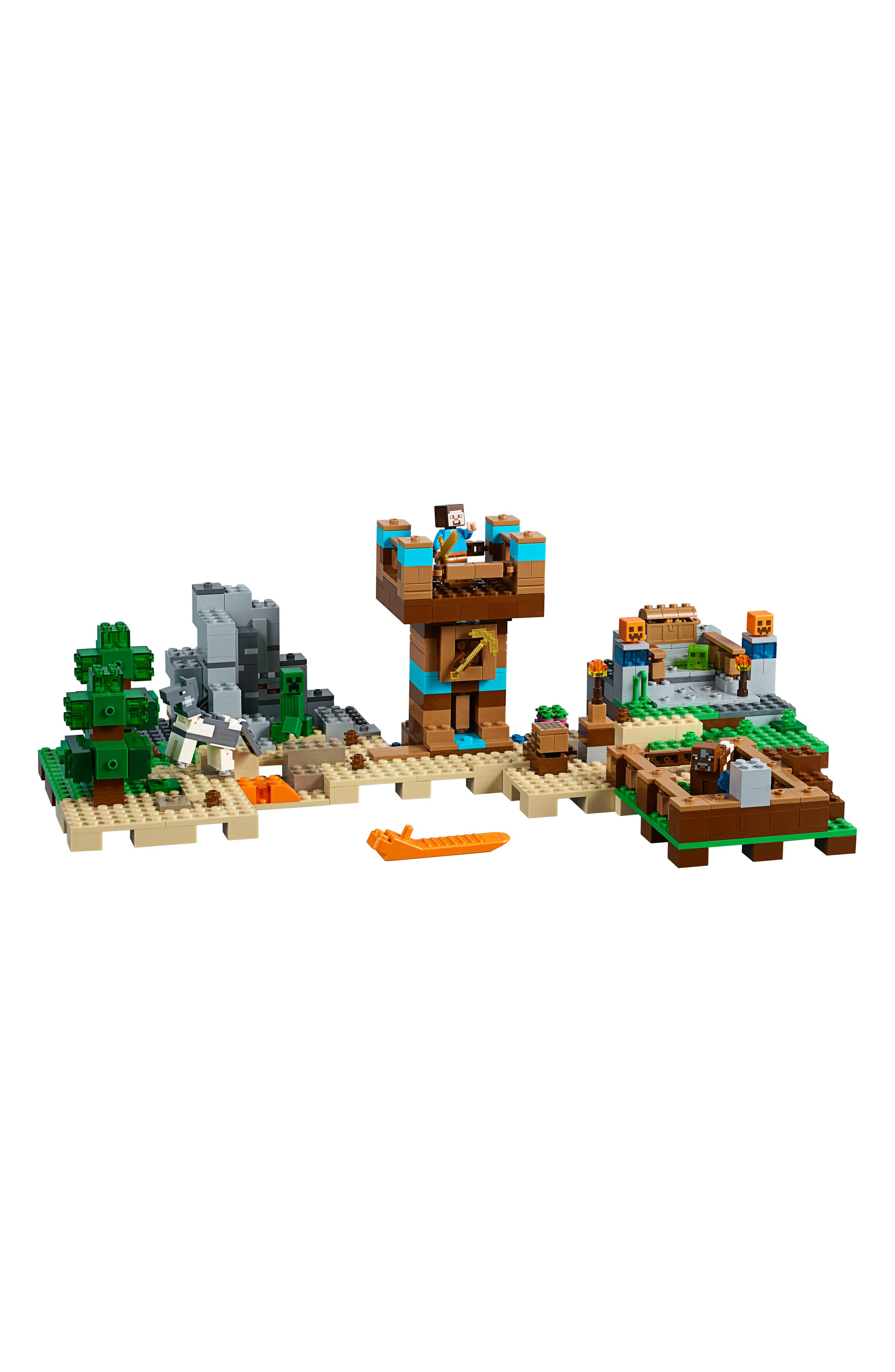 Minecraft<sup>™</sup> The Crafting Box 2.0 Play Set - 21135,                             Alternate thumbnail 3, color,                             Multi