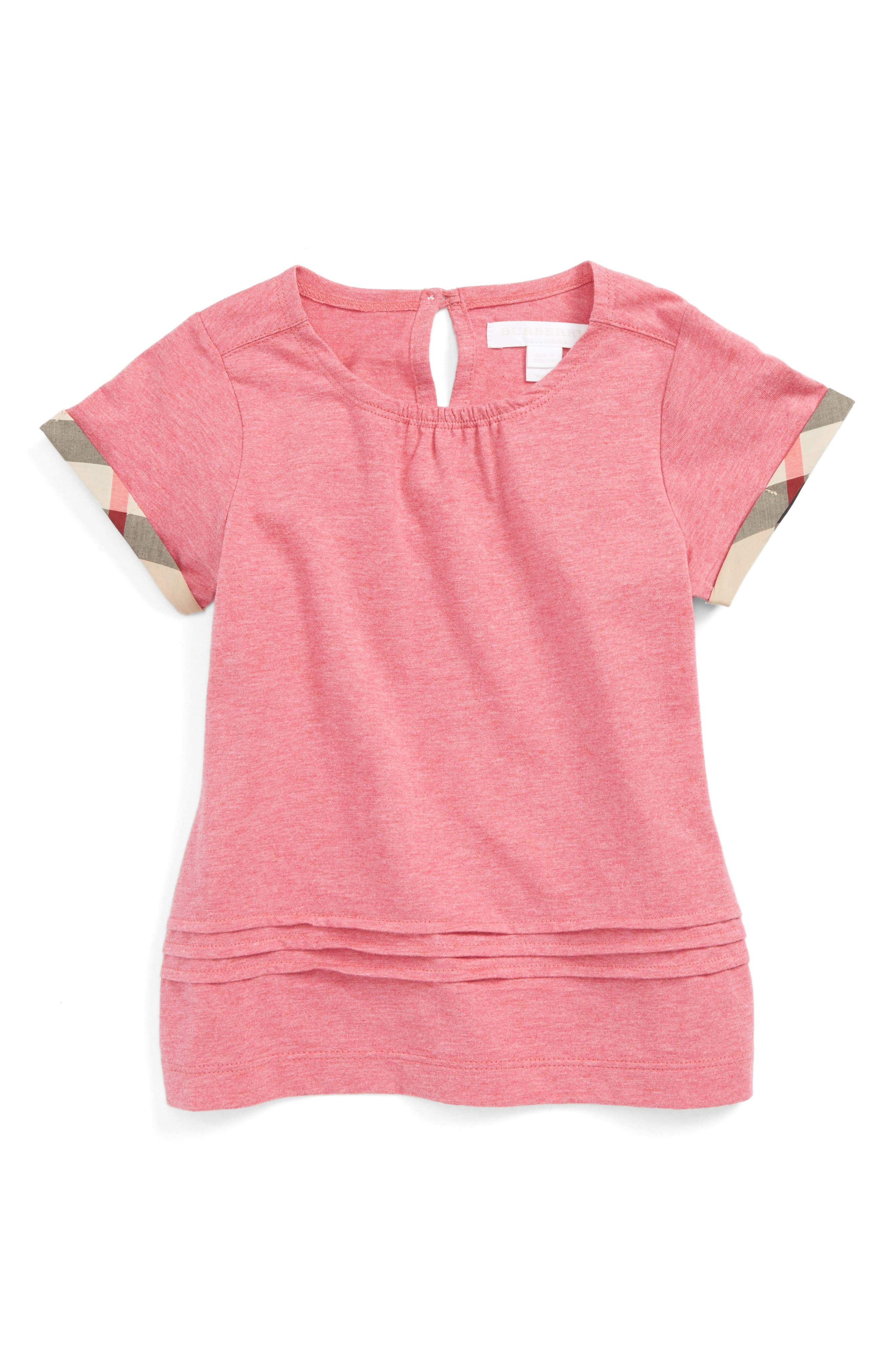 Burberry Gisselle Cuff Sleeve Tee (Little Girls & Big Girls)
